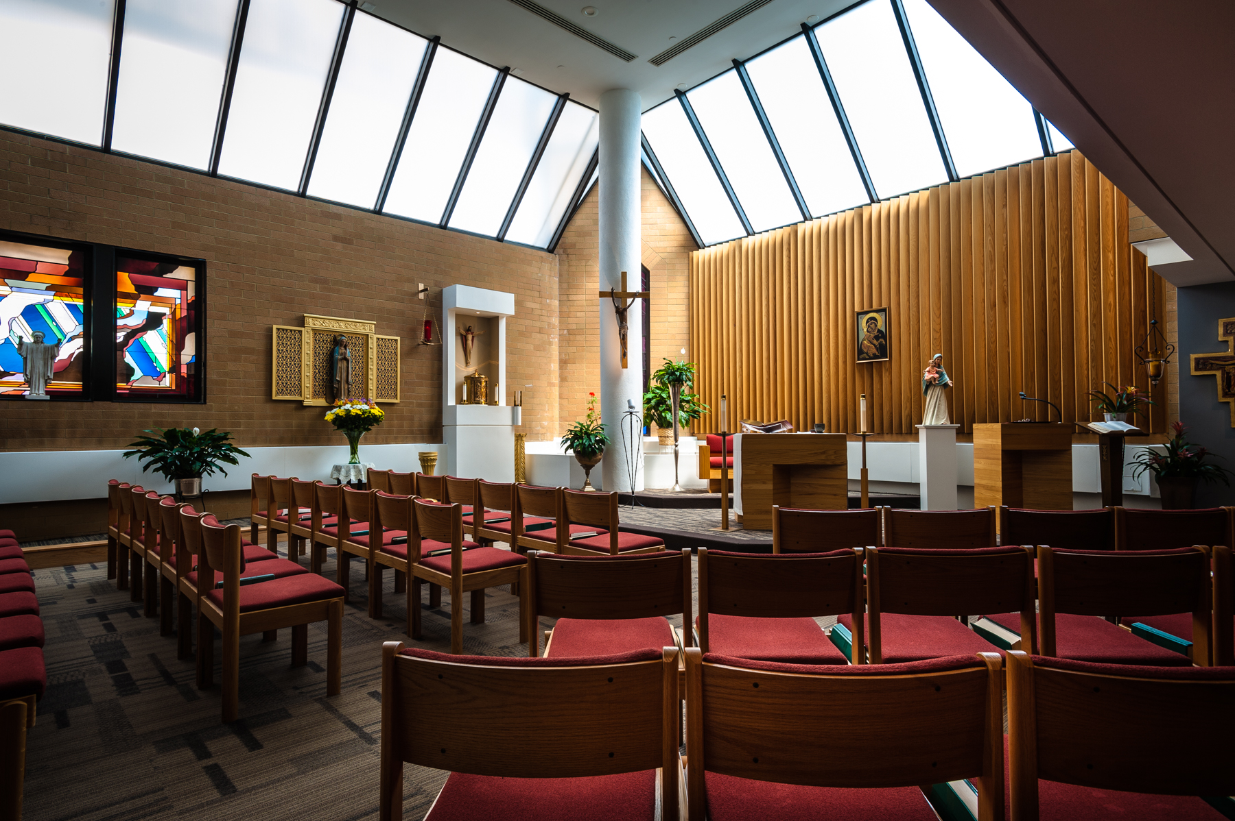 The main chapel