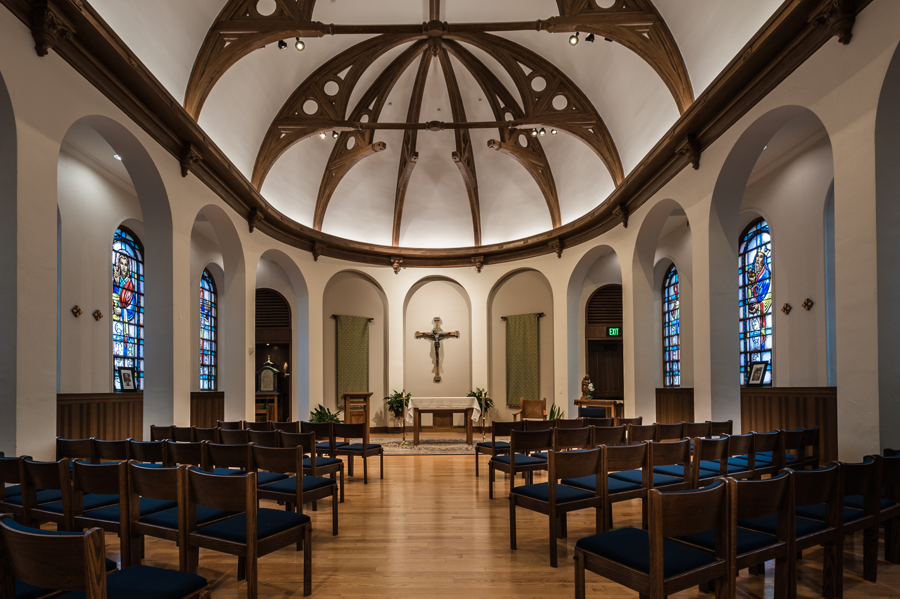 - Chapels and other sacred sites dot the campus as part of the College's commitment to care for community members academically, socially and spiritually.