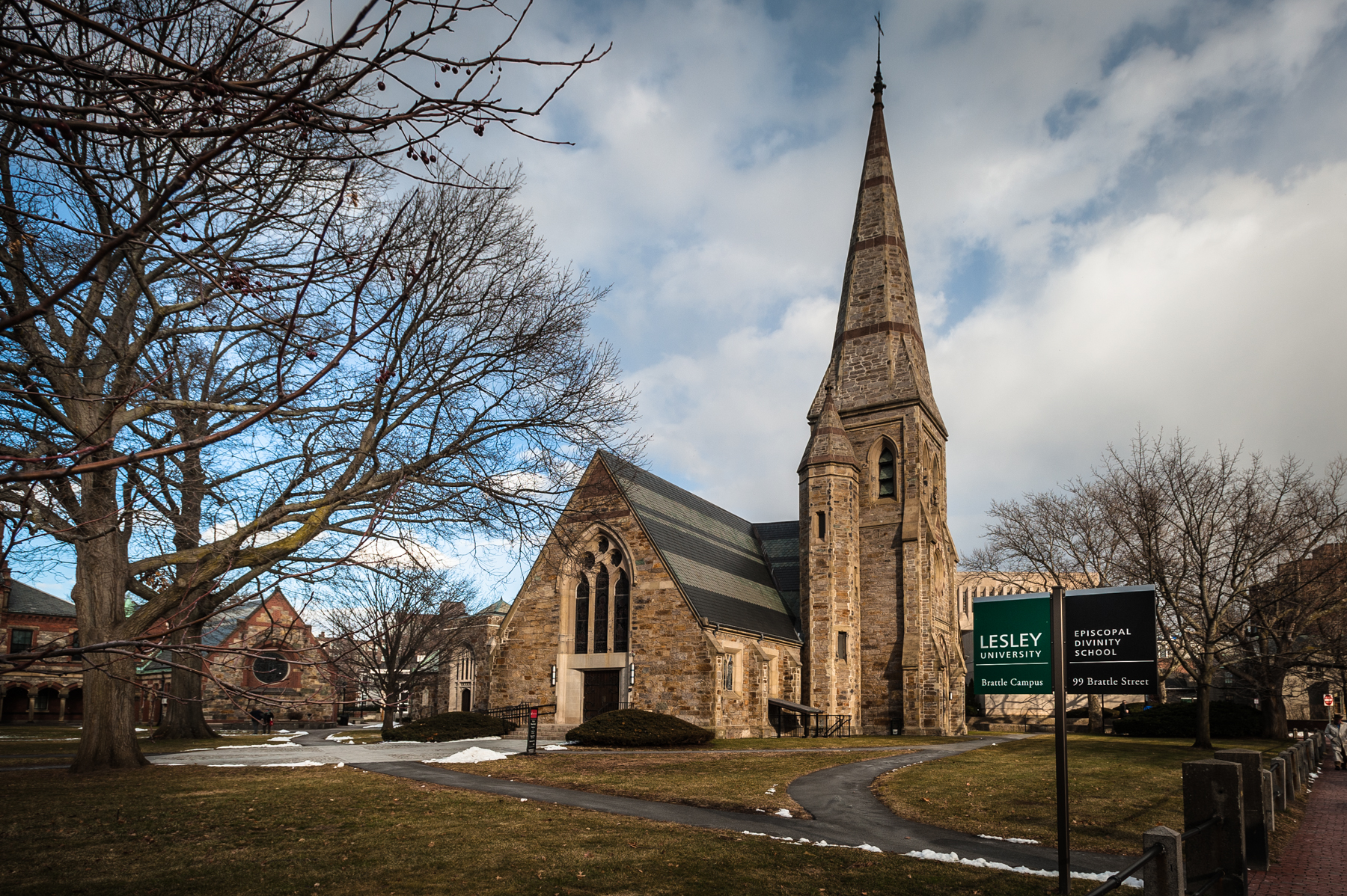 - St. John's Memorial Chapel was built when EDS was the Episcopal Theological School.