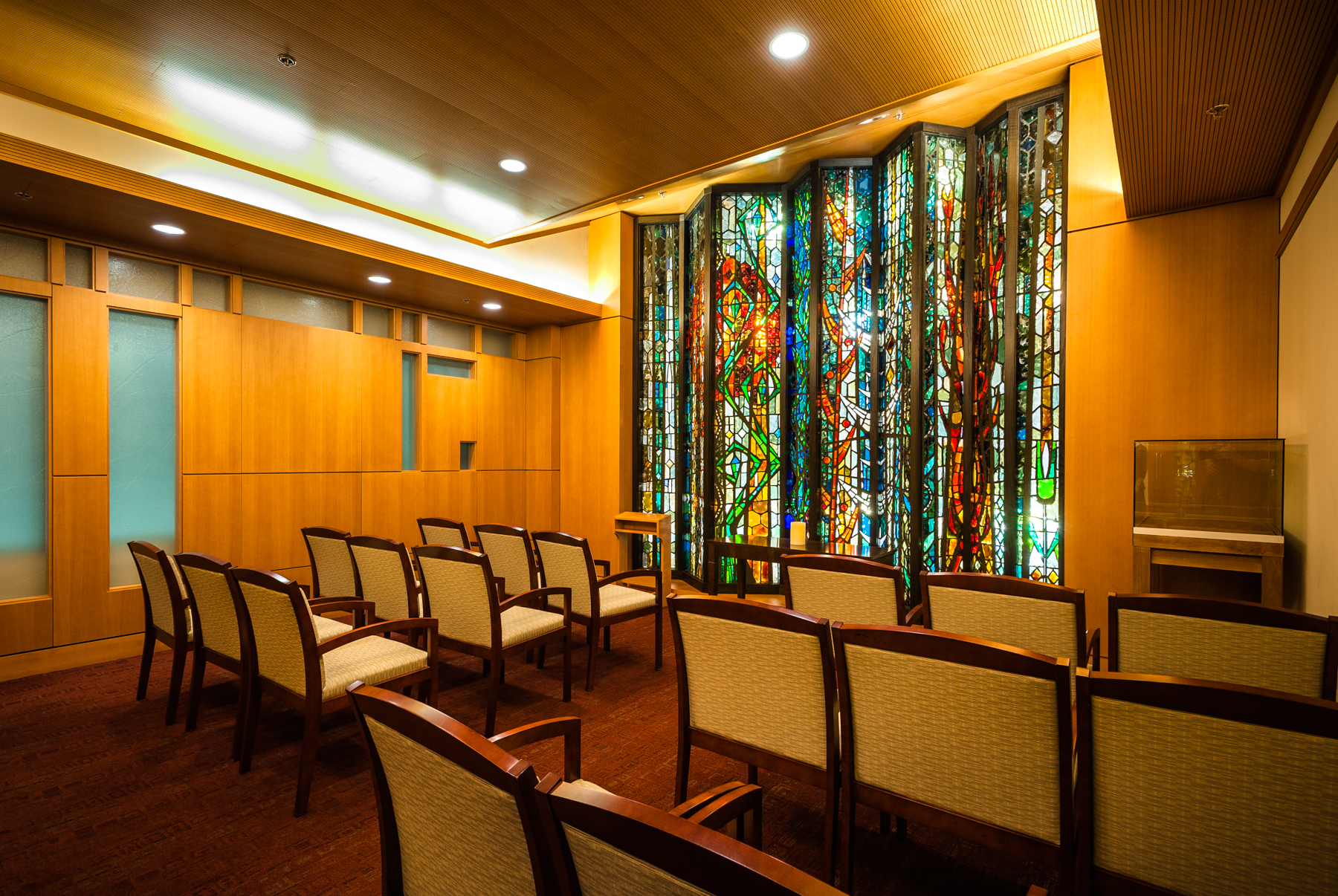 - The Dana Farber Cancer Institute built its first Prayer and Meditation Room on an inpatient floor in 1990 and its full chapel in 1995. Planners decided not to name this chapel in an effort to make it as inclusive as possible.