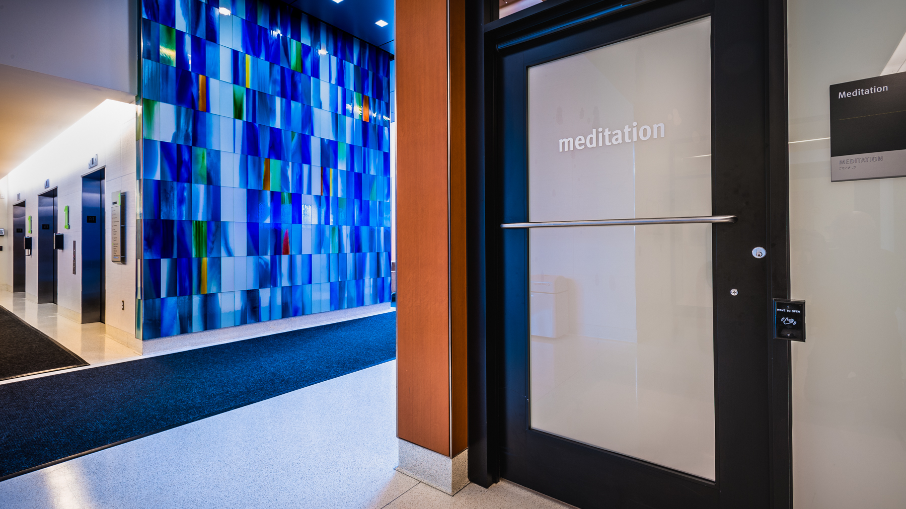 - Spaulding Rehabilitation Hospital opened its new 132-bed facility in Charlestown in 2013, featuring a modern interfaith meditation space rather than a traditional hospital chapel.