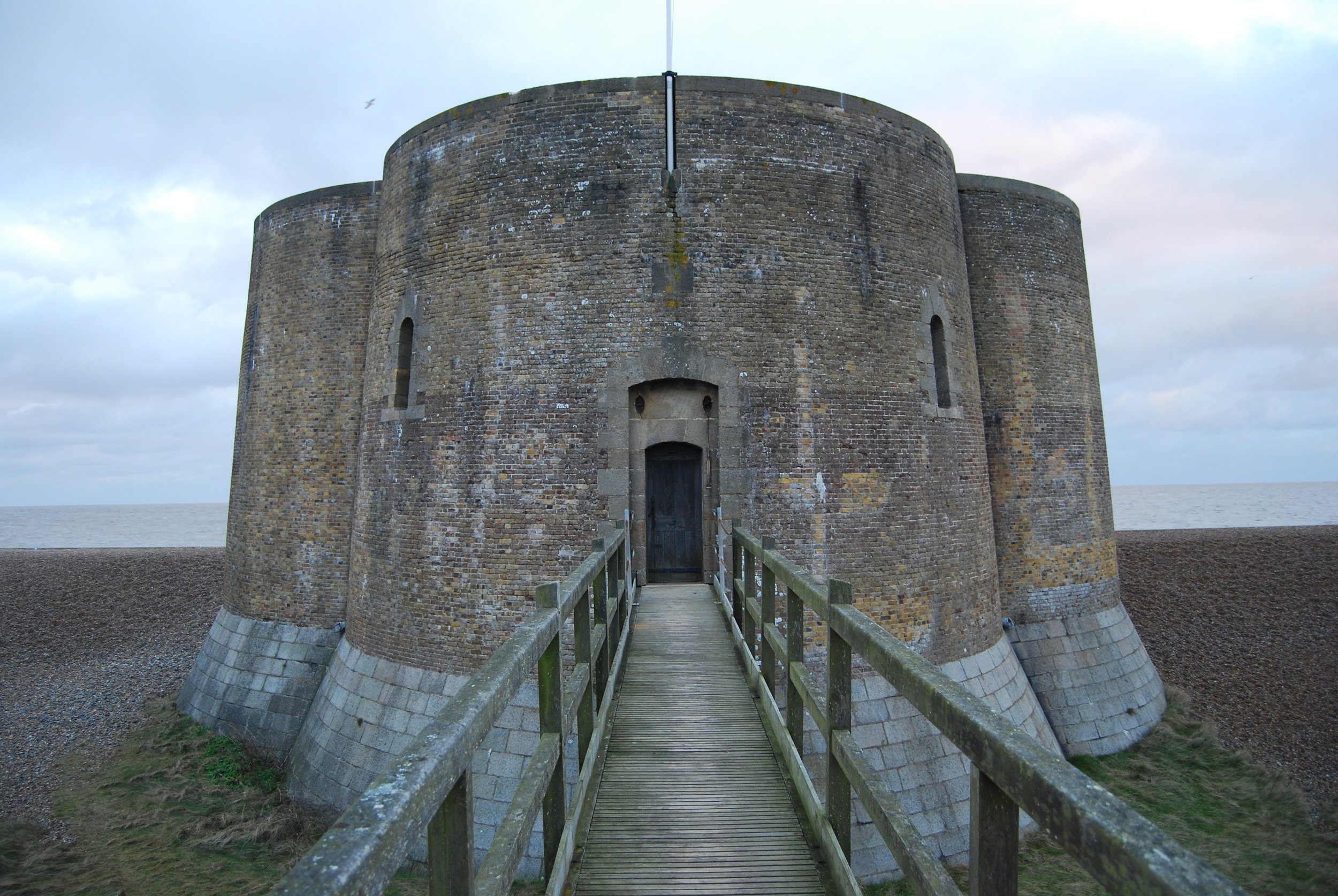 Martello Tower, Aldeburgh, Suffolk February 2015