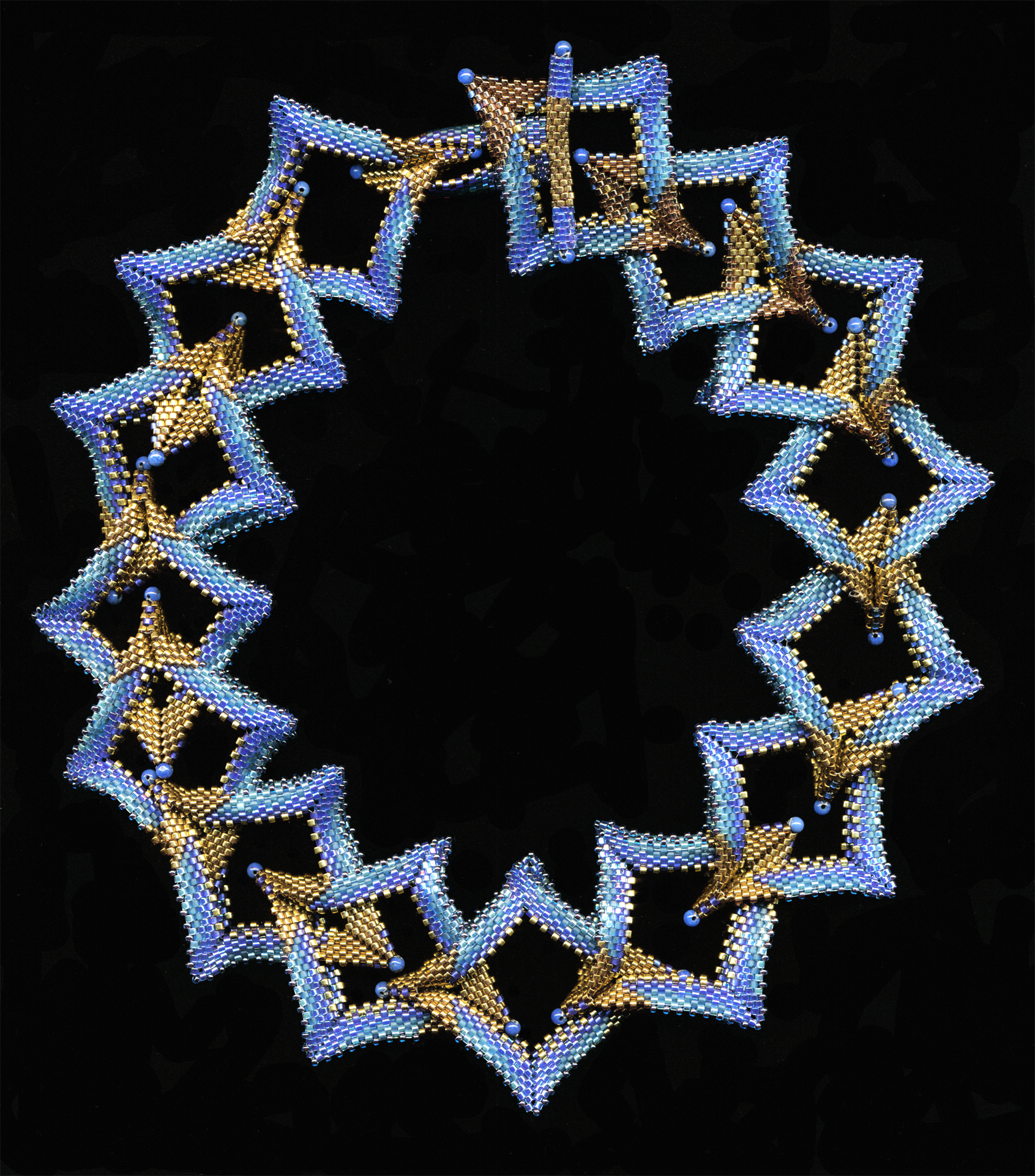Double Diamond necklace