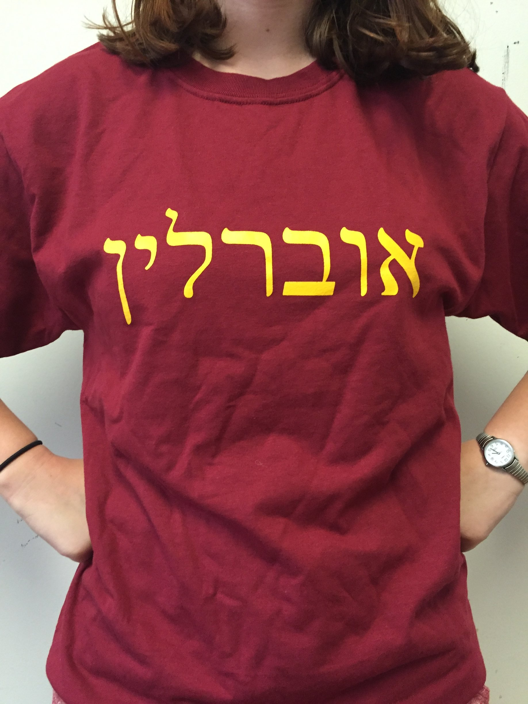 Want some Oberlin Hillel swag? - To purchase one of our amazing Oberlin Hillel tee-shirts (sizes: adult S/M/L), please contact Talia Rodwin, at jalperin@clevelandhillel.org. Shirts will be around $10-15 depending on shipping costs.Keep your eyes peeled for some new swag coming soon!