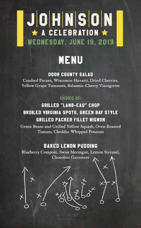 johnson menu
