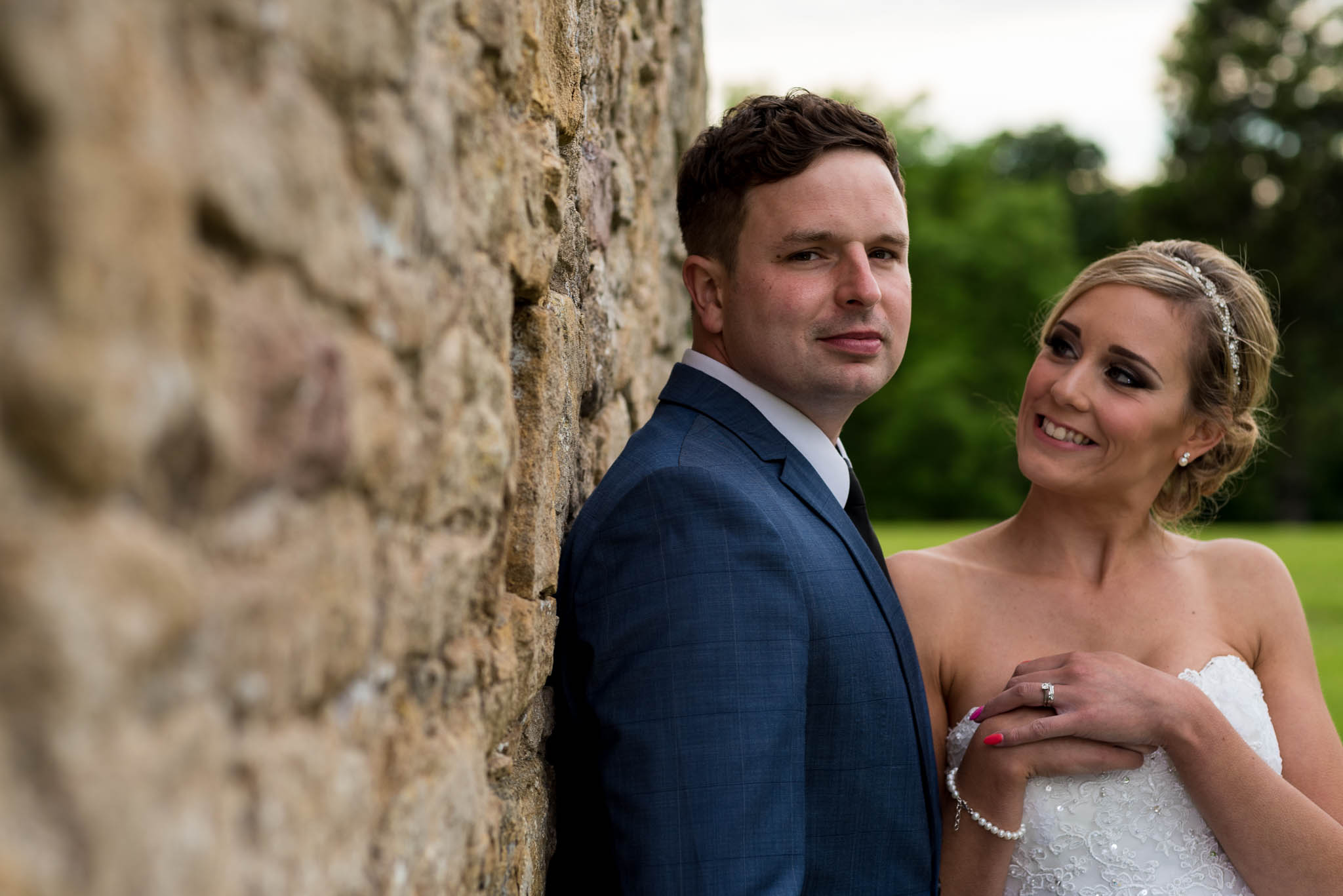Andy & Rosie - Easby Abbey