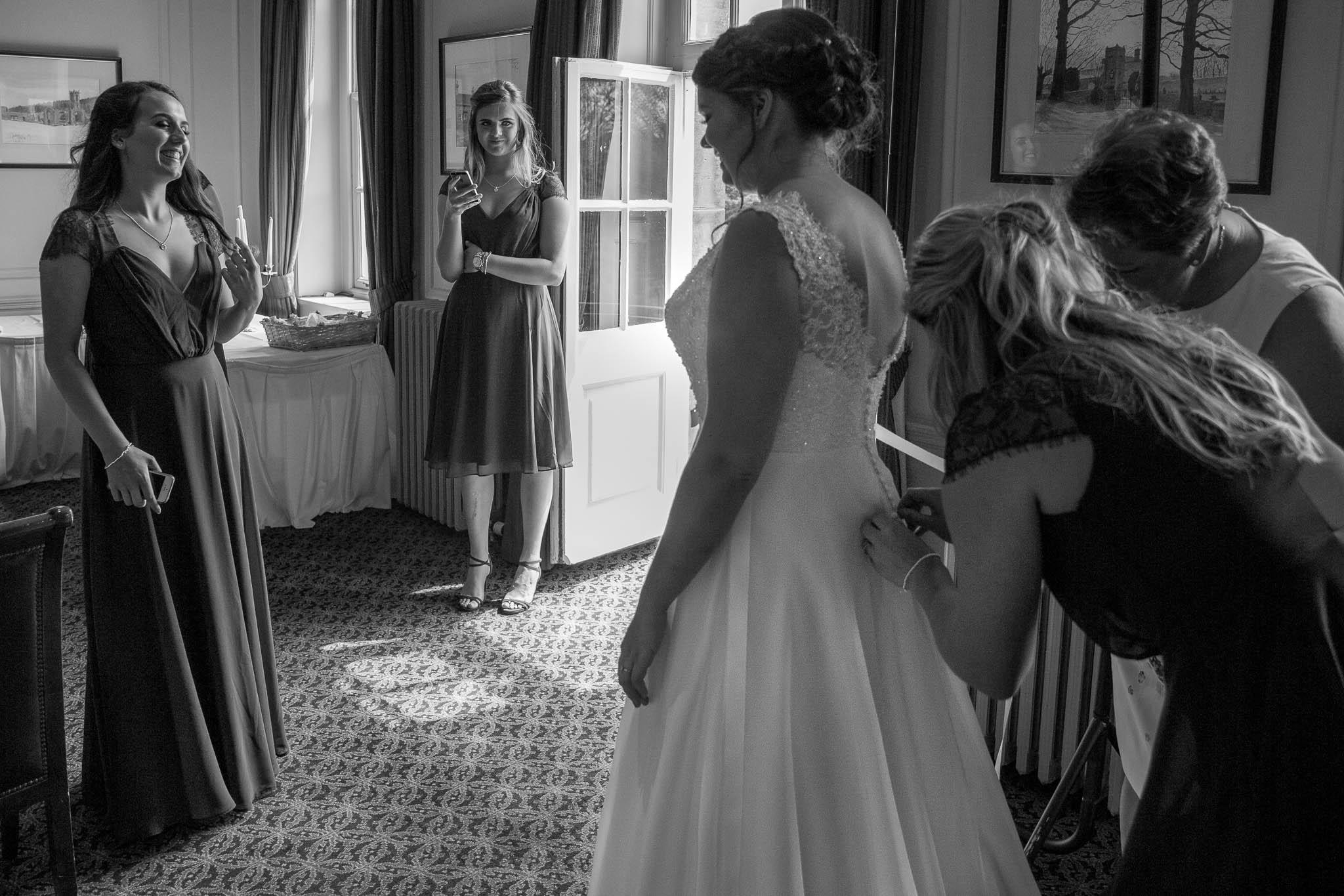 Crathorne Hall Hotel Wedding Photographer40.jpg