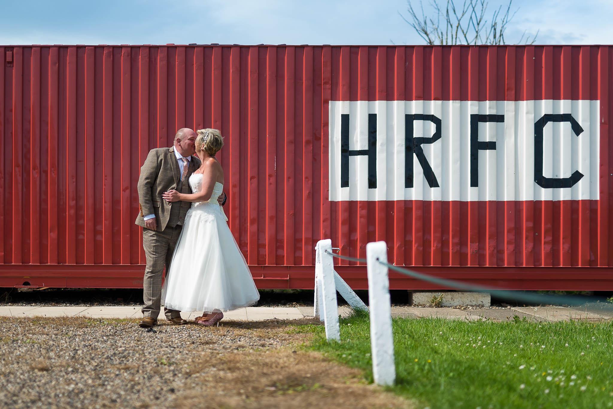 Darren & Charlotte - HMS Trincomalee Wedding