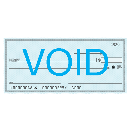 Voided Check -Give a board member a voided check with the amount you'd like to give and we will set up a monthly draft.