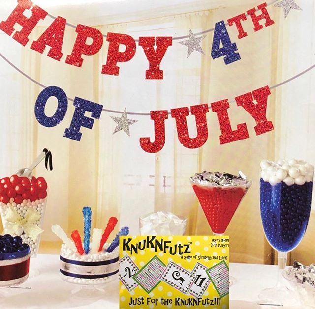 Bring on the #fireworks and #celebrate the #4th with #knuknfutz Oder yours on #Amazon or WWW.knuknfutzgames.com