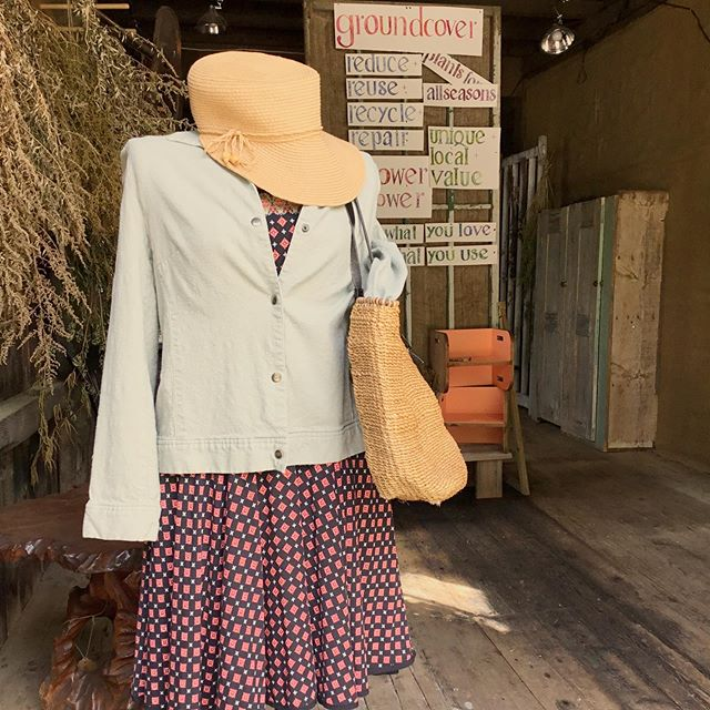 """All dressed up with nowhere to go.  Stop in to find your next """"going out"""" outfit.  #alldressedupandnowheretogo #newoutfit #newtome #shoplocal #smallbusinesslove"""