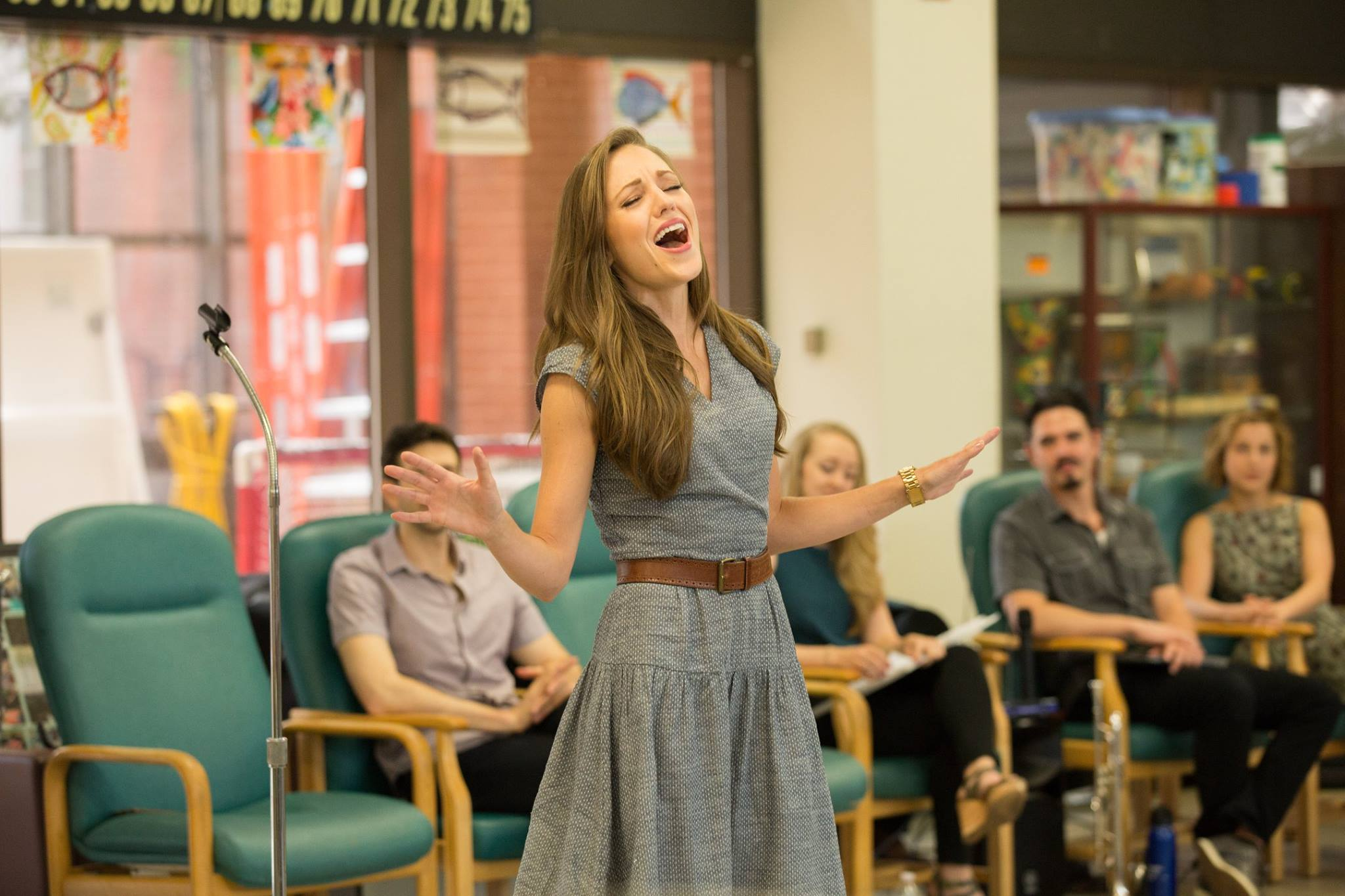 Laura Osnes with Bandstand