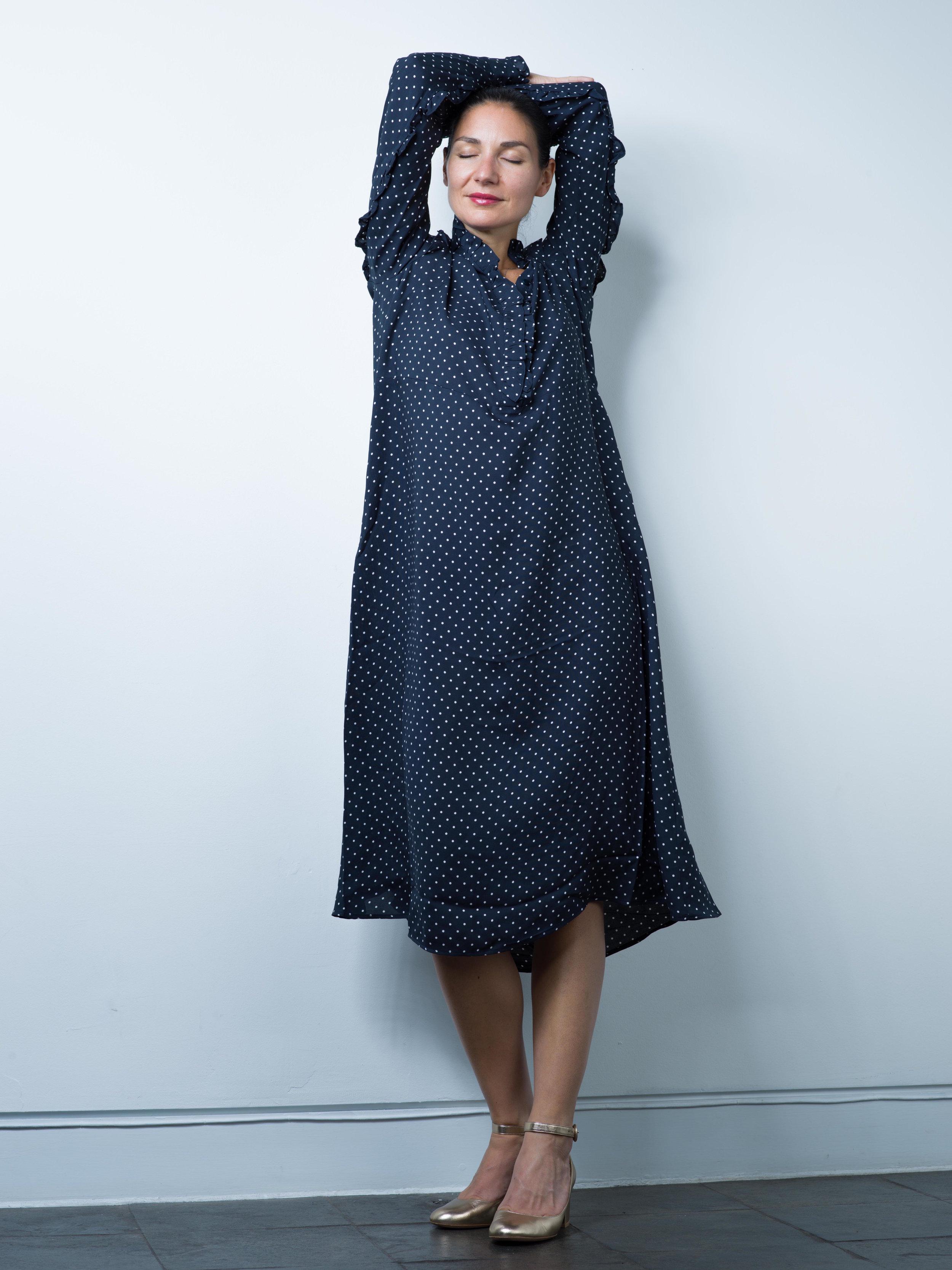 H&M Polka Dot Maxi Dress