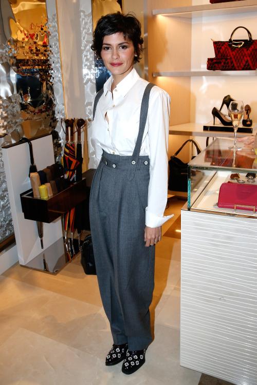 French actress Audrey Tautou
