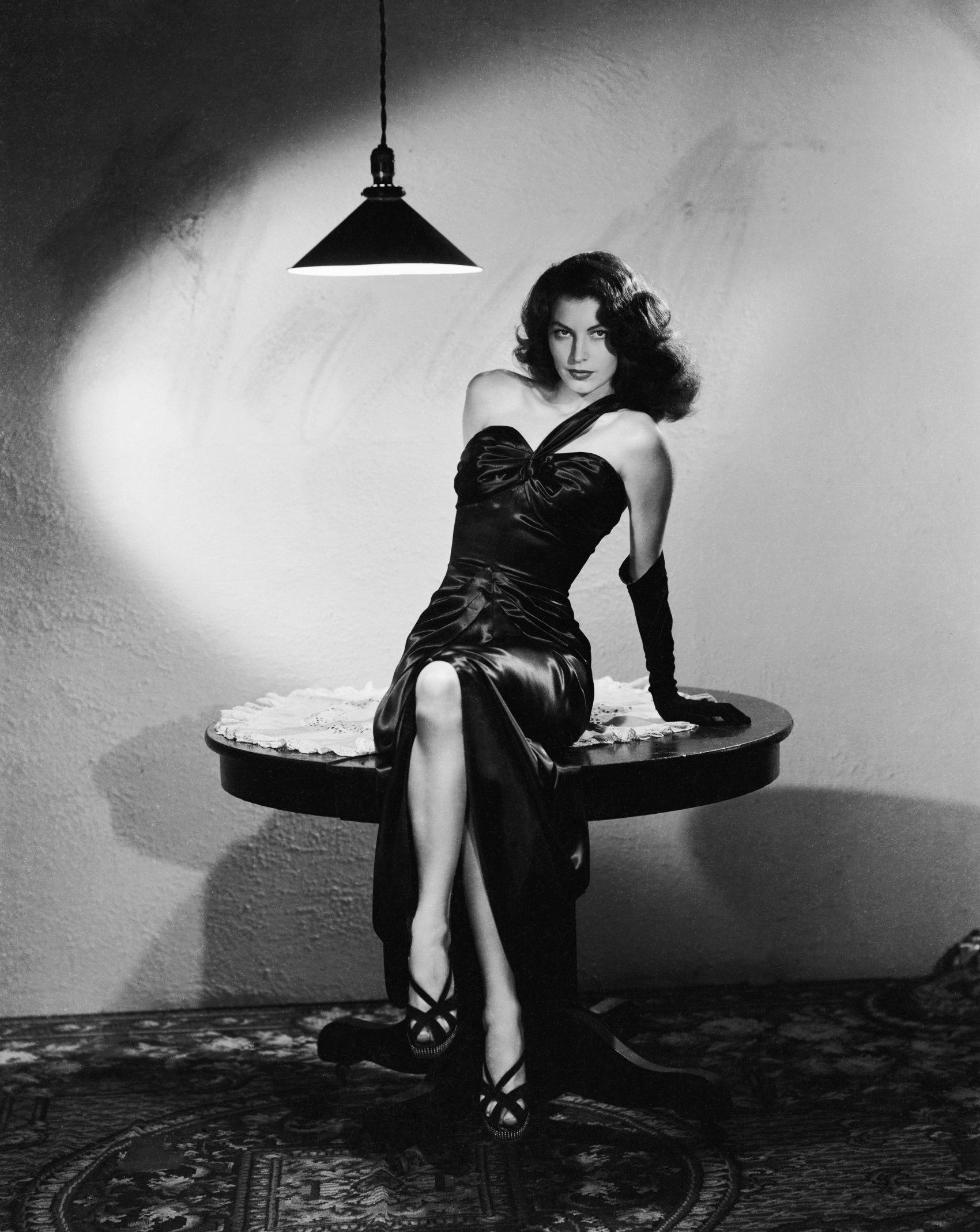 American Actress Ava Gardner in Robert Siodmak's  The Killers  (1946)