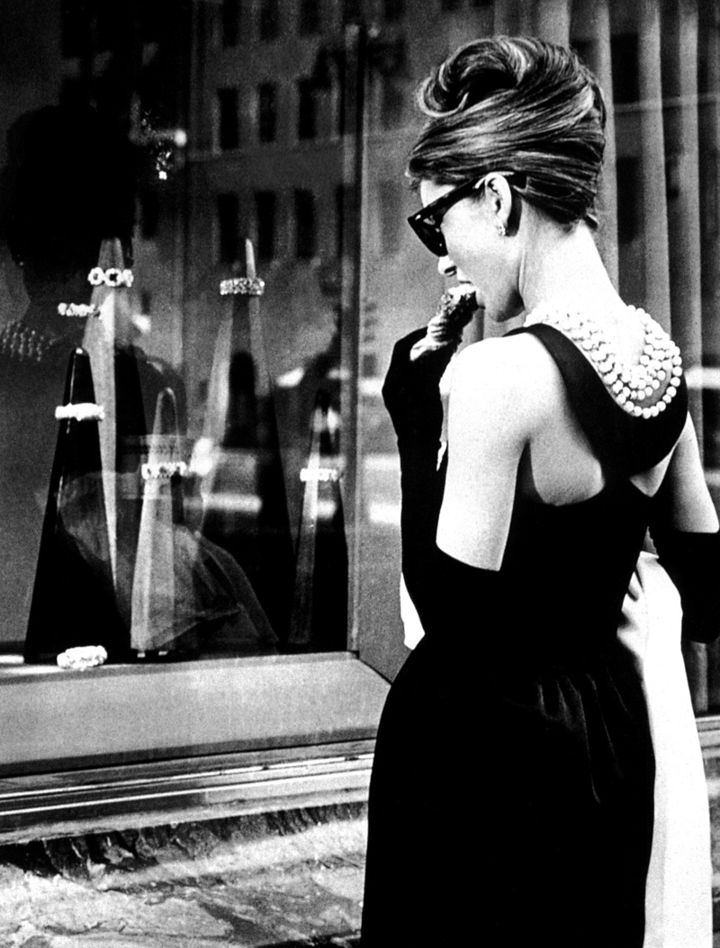 Audrey Hepburn starring as Holly Golightly in Blake Edwards'  Breakfast at Tiffany's  (1961)