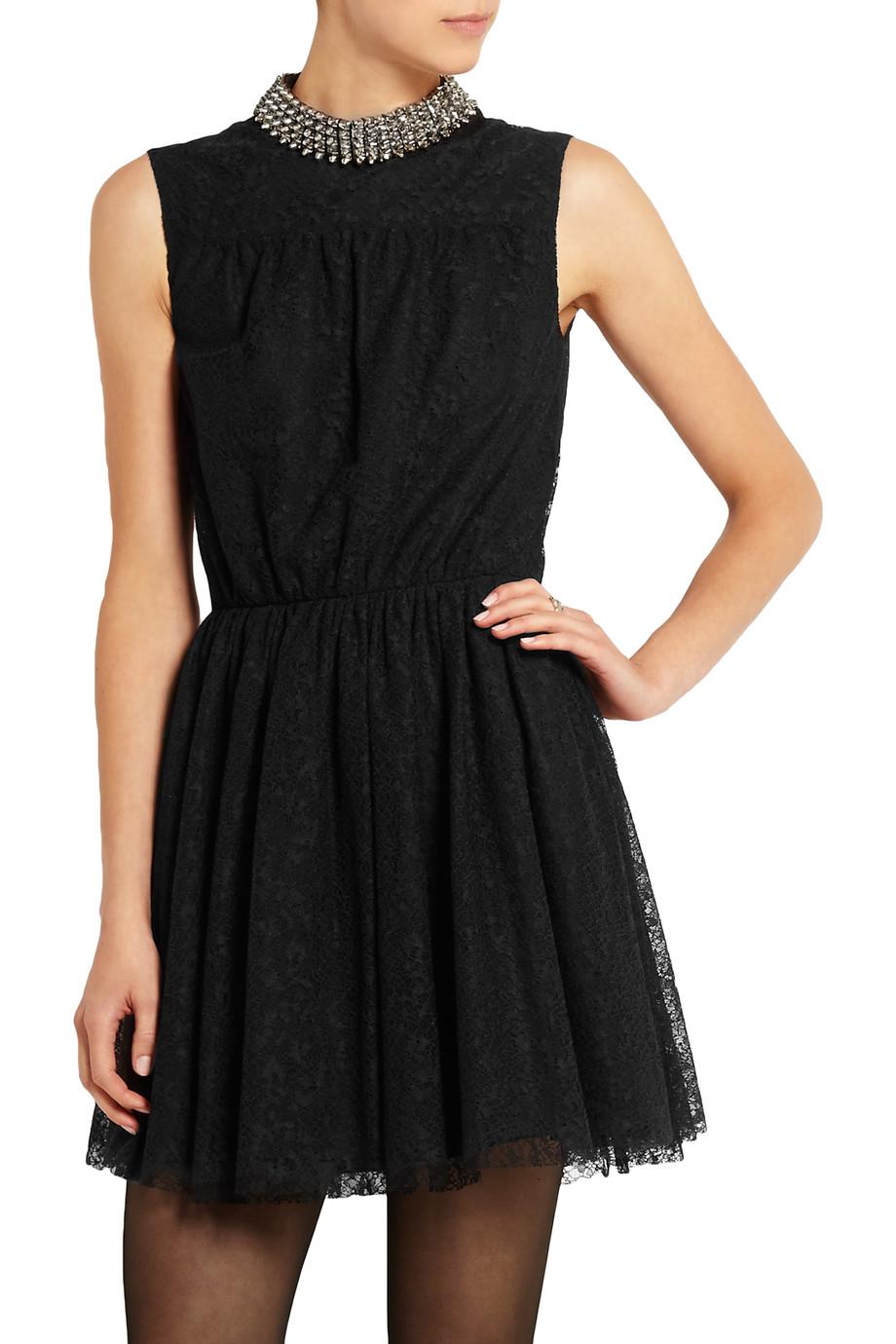 Saint Laurent Studded Mini Dress.jpg