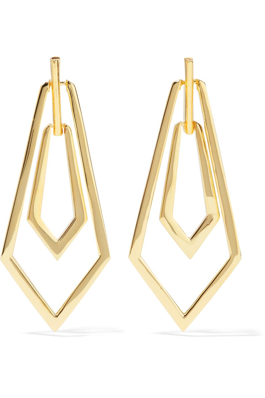 Noir Jewelry   Maximilian Gold Tone Earrings , £27 on The Outnet -  could be tempted to get my ears pierced just to wear these...