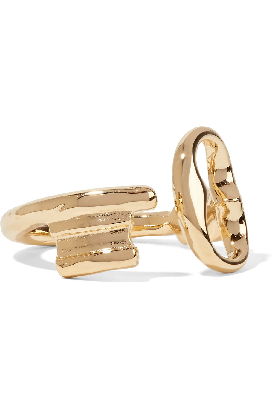 Aurélie Bidermann   Gold Plated Ring , £63 - matching ring