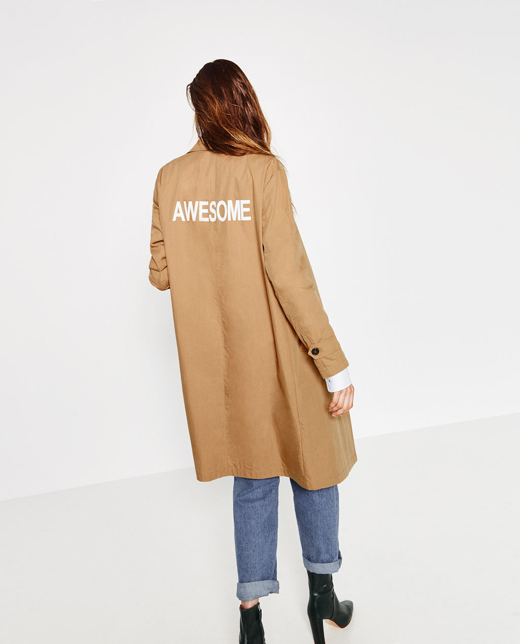 Zara   Long Trench Coat , £19.99 (60% off) -  Less than £20, is there any point in resisting awesomeness...?