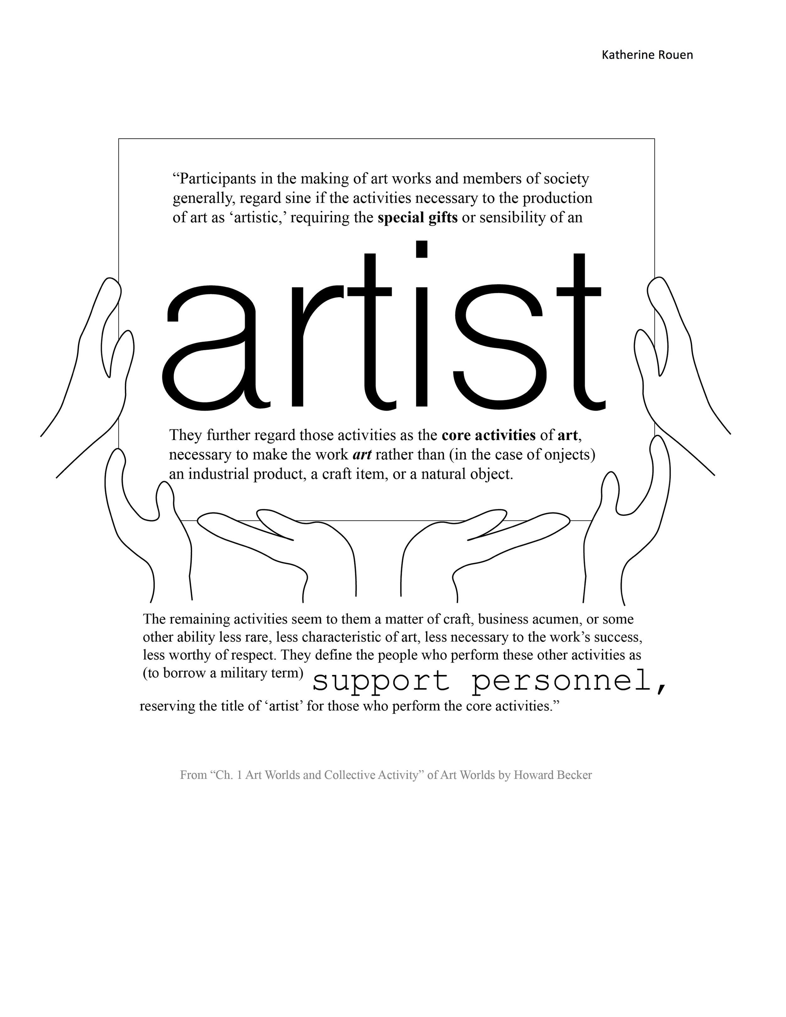 """Howard Becker: """"Art Worlds"""""""