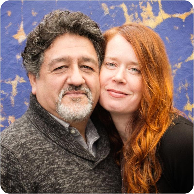 Our photographers - Francisco Salgado and Kim Campbell with Campbell Salgado Studio in Portland, Oregon.