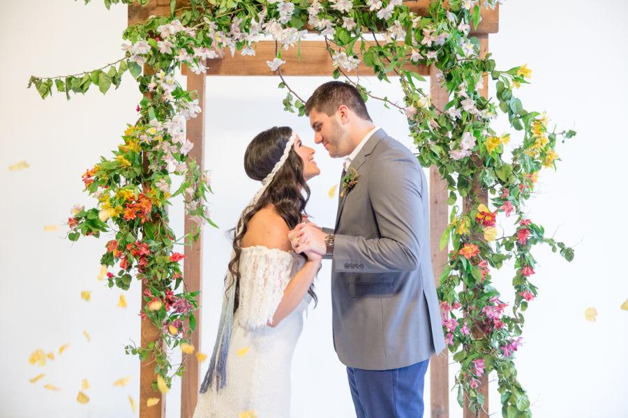 macrame veil, Macrame Wedding, Boho Veil, Ombre veil, Ombre wedding, Blue Veil, Champagne and GRIT - Copy.jpg