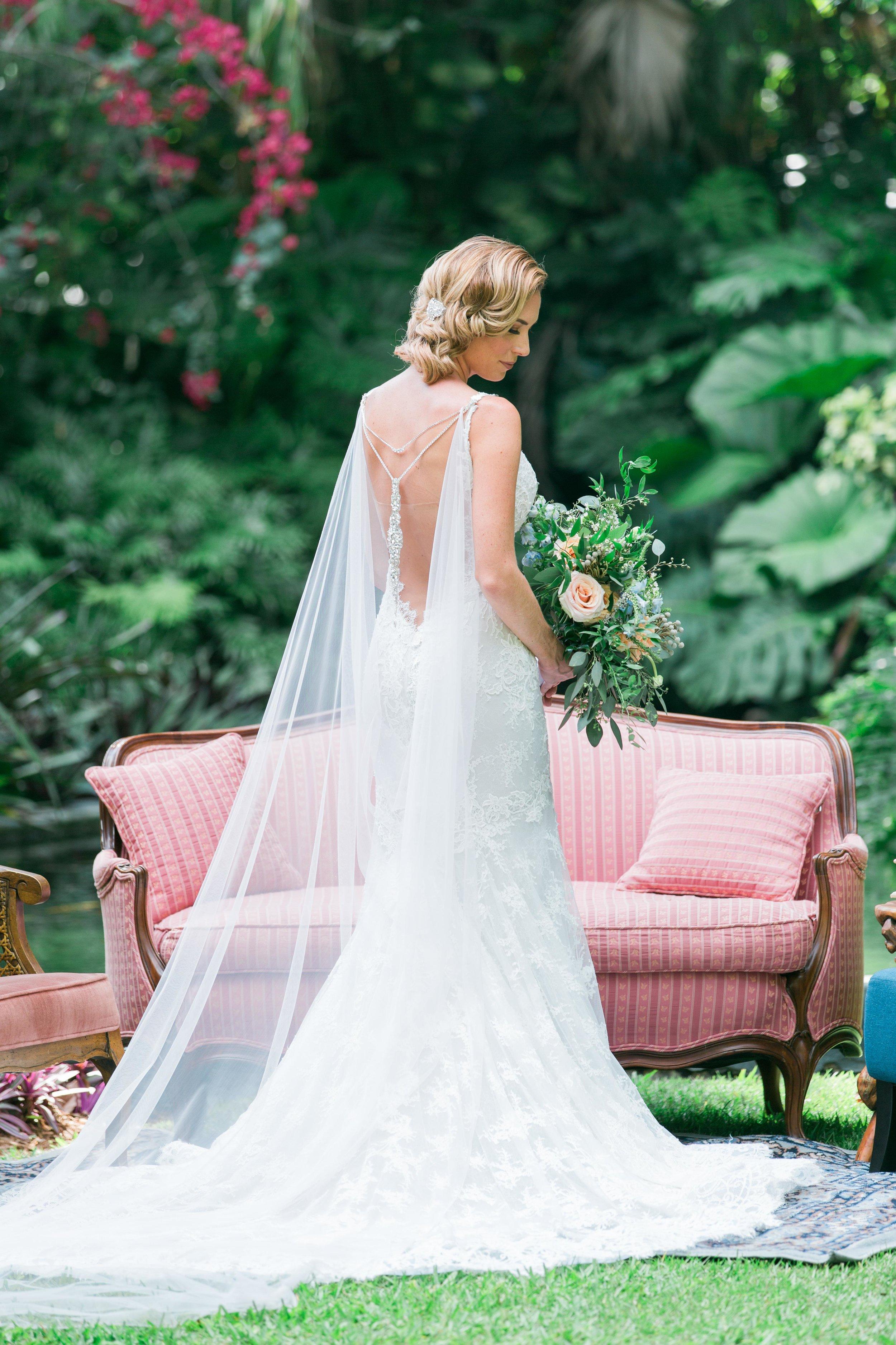 Bridal Cape, Wedding Back Necklace, Back drop necklace, Blush Veil, Blush wedding cape, Champagne and GRIT - Copy.jpg