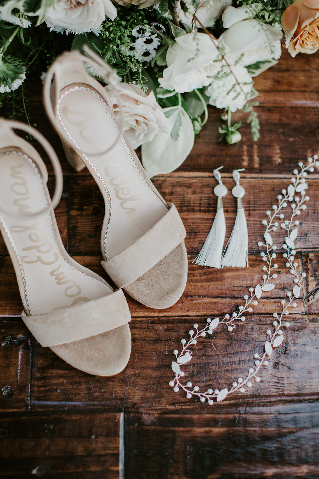 Boho Bridal Earrings, Boho bridal Accessories, Boho wedding, Bridal Halo, Champagne and GRIT - Copy.jpg