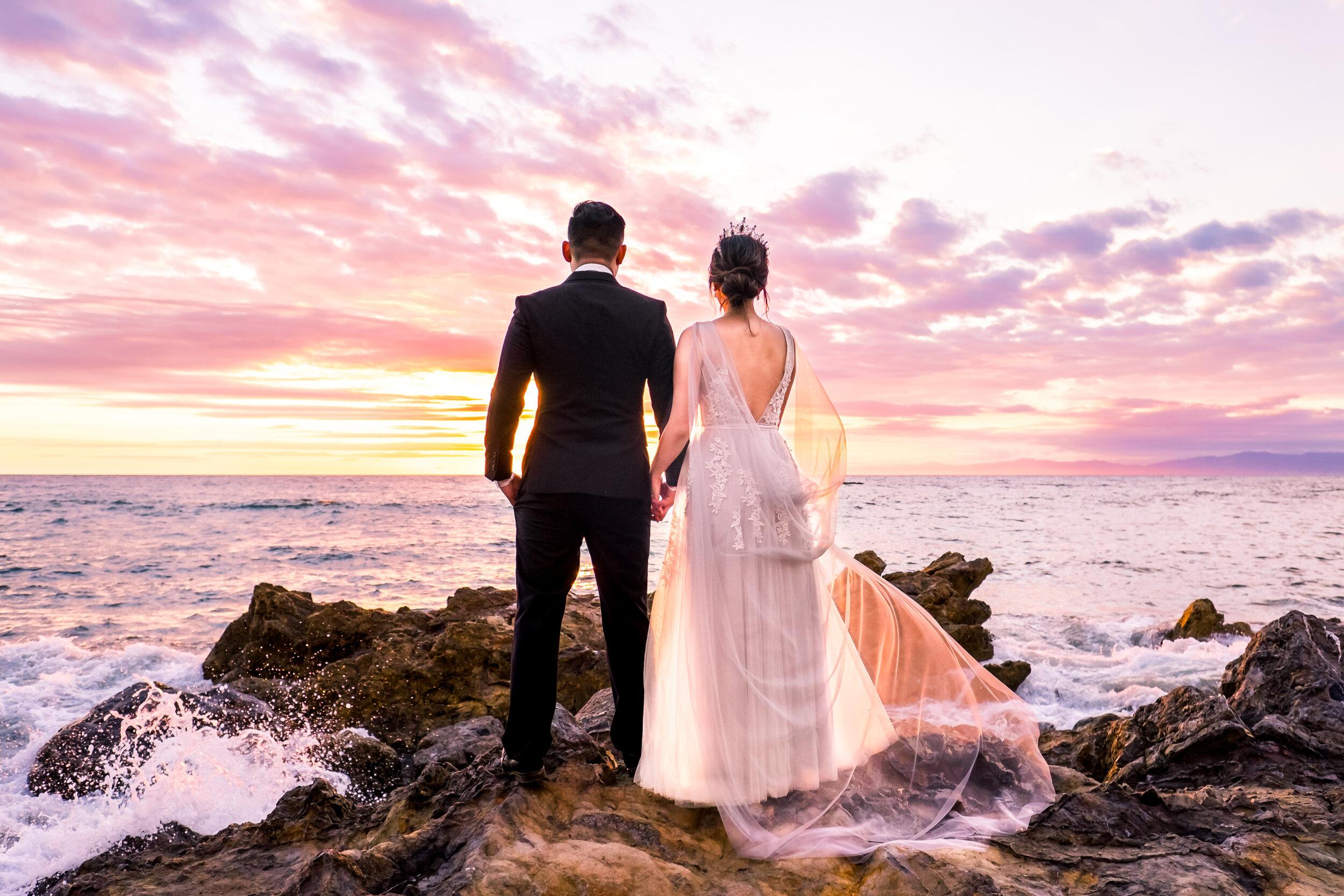 Beach WEdding, Bridal Cape Champagne and GRIT.jpg