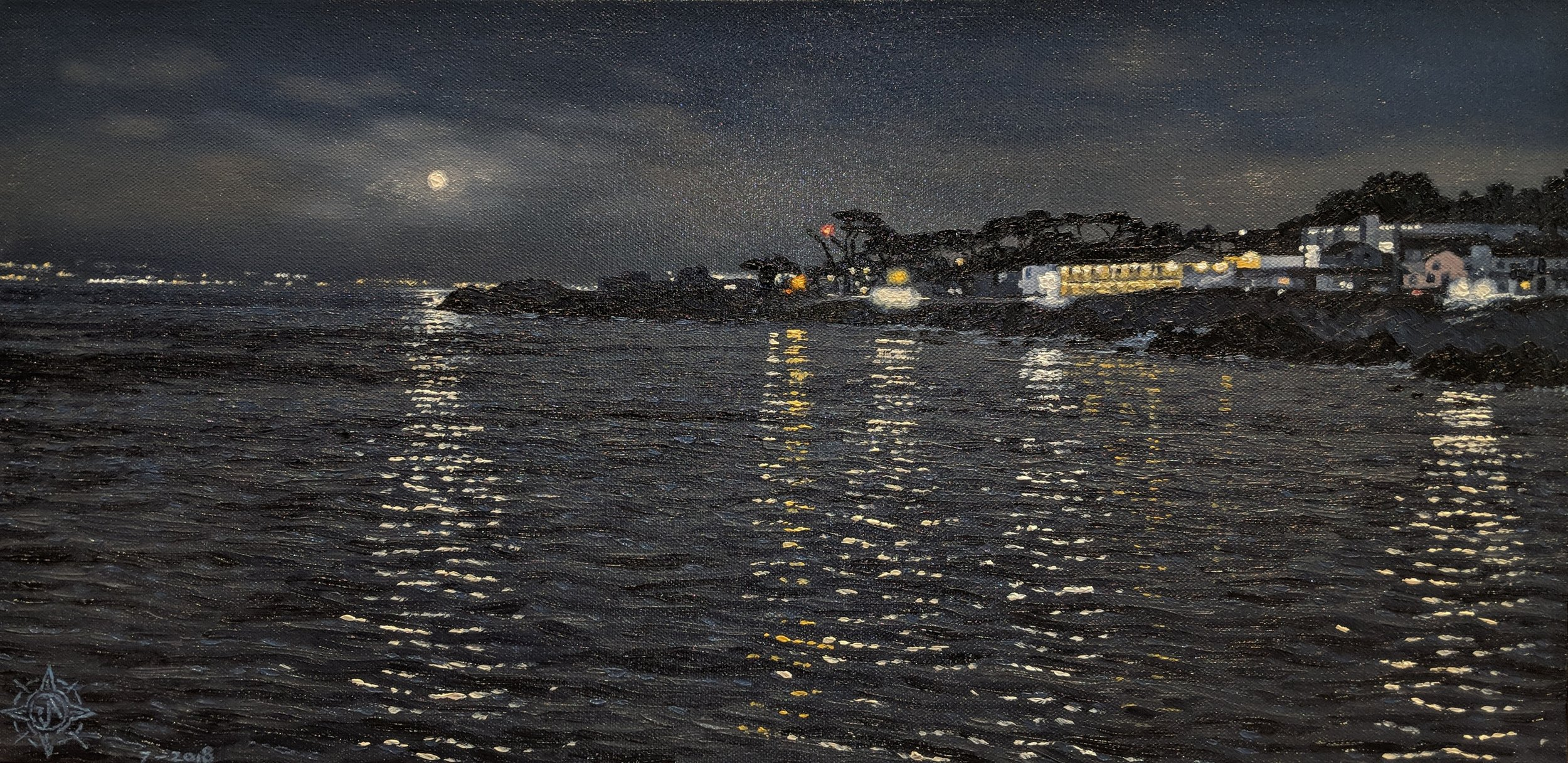 Moonrise, Pacific Grove 24 x 18.jpg