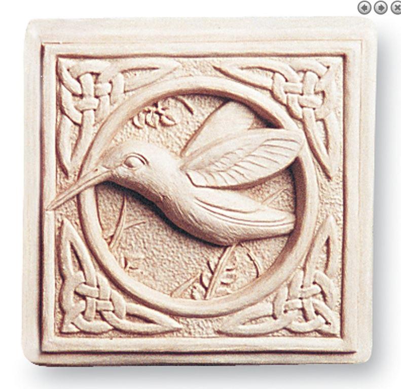 Celtic Hummingbird Plaque 146.JPG