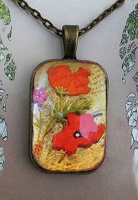 Poppies Rectangular Pendant.jpg