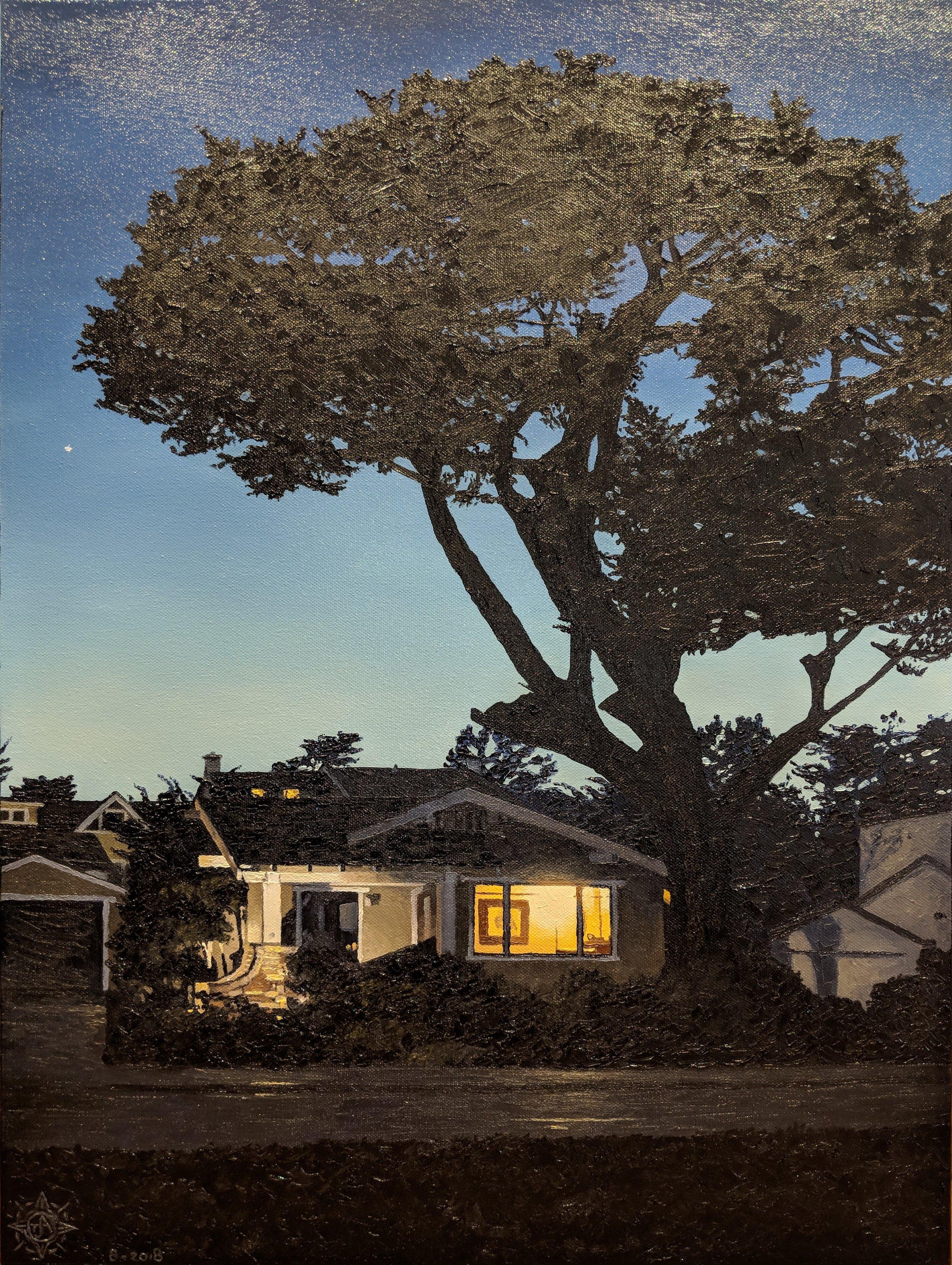 Bungalow Glow, Pacific Grove 18 x 24.jpg