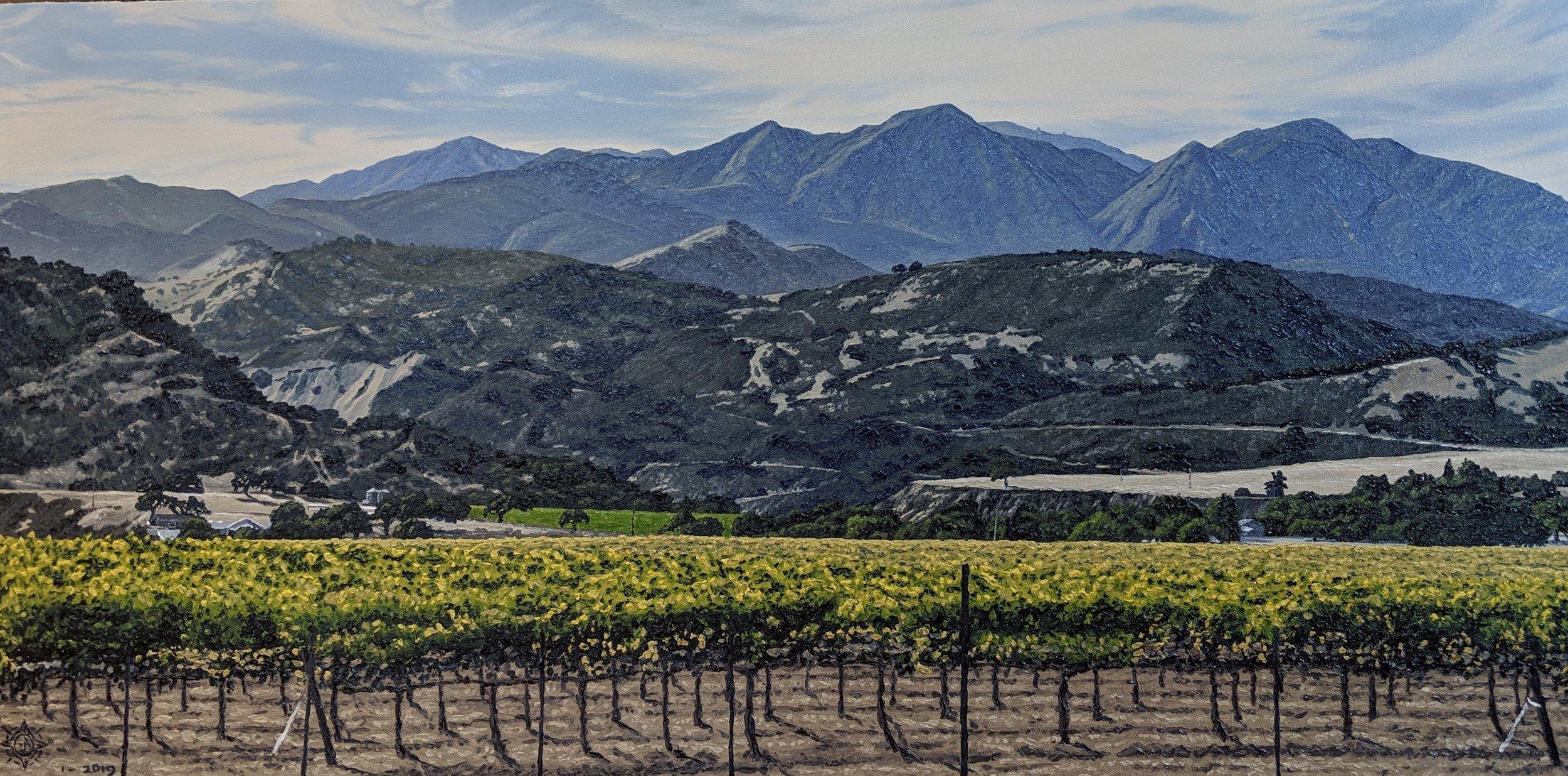 The Mountains Edge, Arroyo Seco 36 x 18.jpg