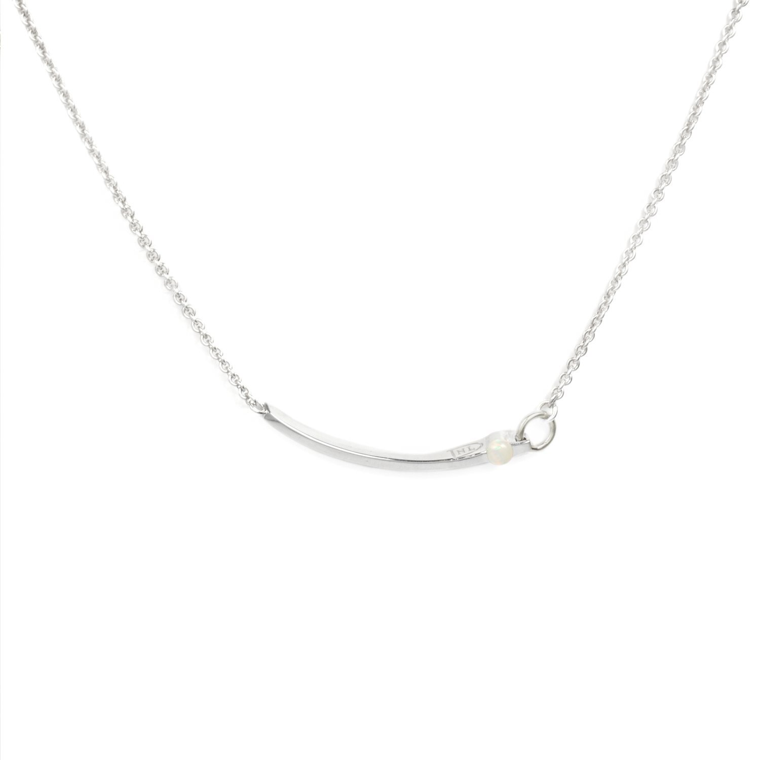 NL-N28 Silver Staight Line Opal Necklace.jpg