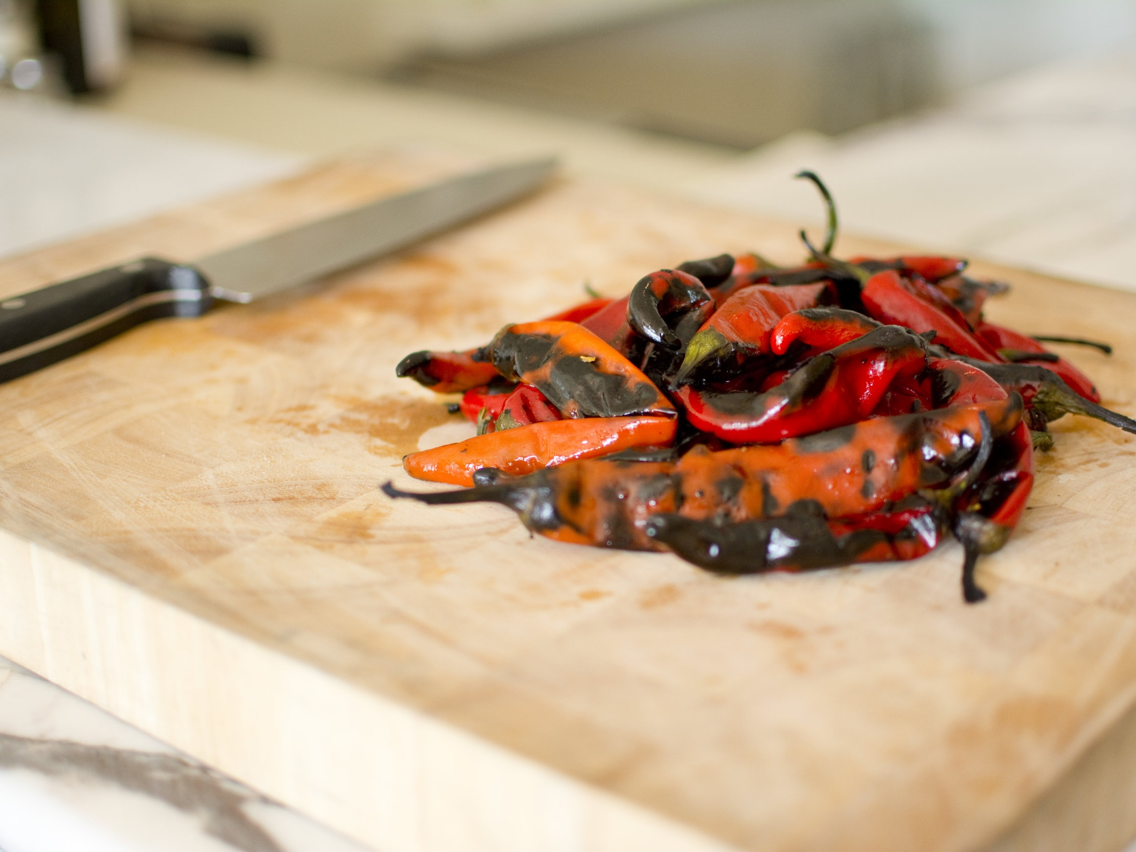 Fresh Peppers in Chili Sauce
