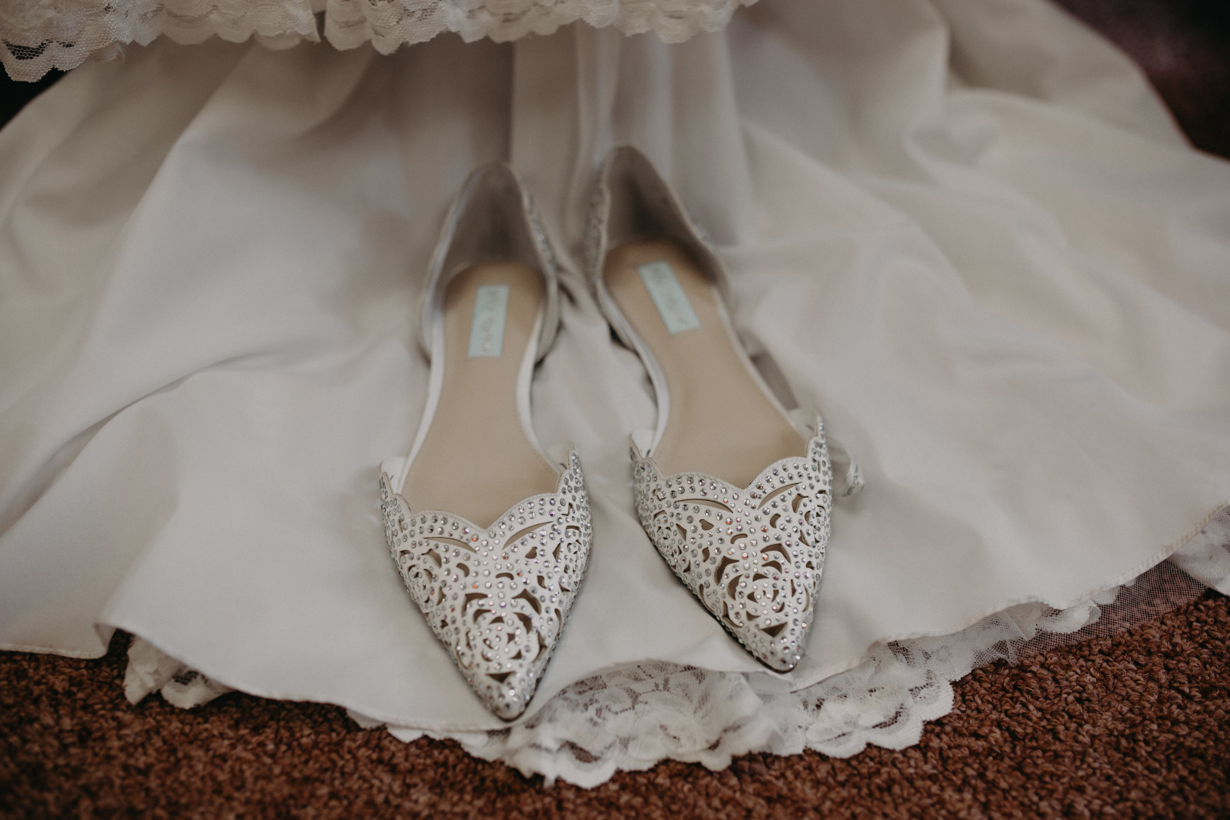 wedding flats for bride in Marshfield Wisconsin photographed by Andrea Wagner Photography