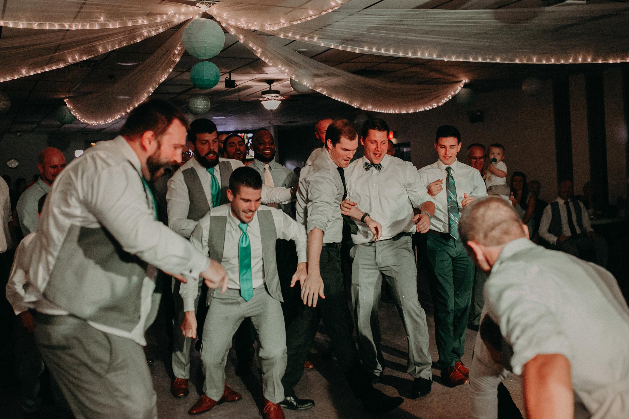 garter-toss-eagles-club-marshfield-wi-wedding