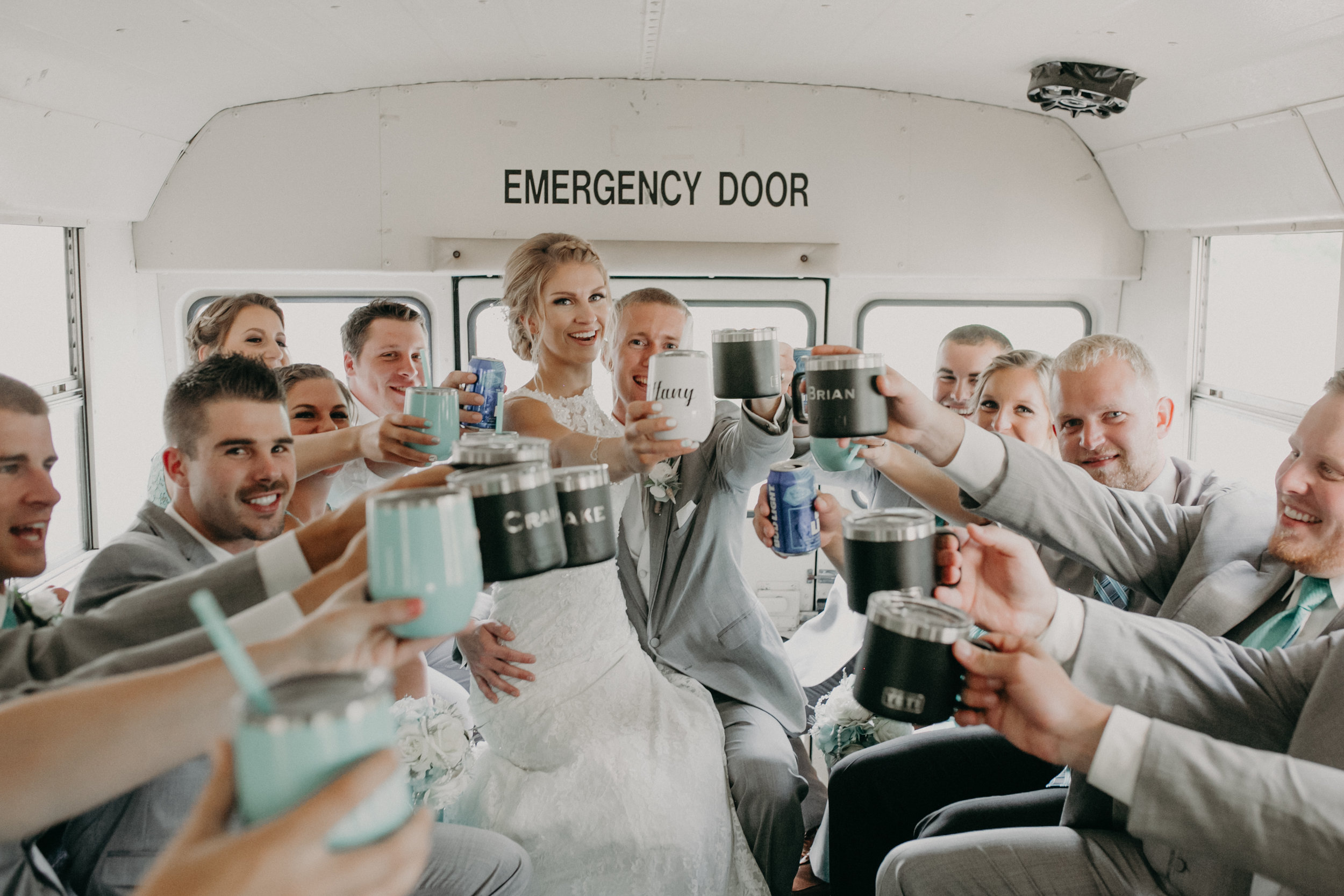 lenz-stargardt-wedding-chili-corners-bar-party-bus-marshfield