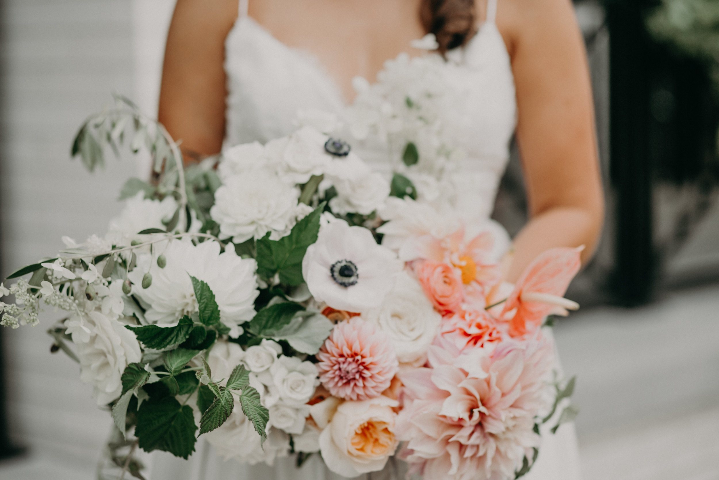 bridal bouquet for lake side wedding in Wayzata MN