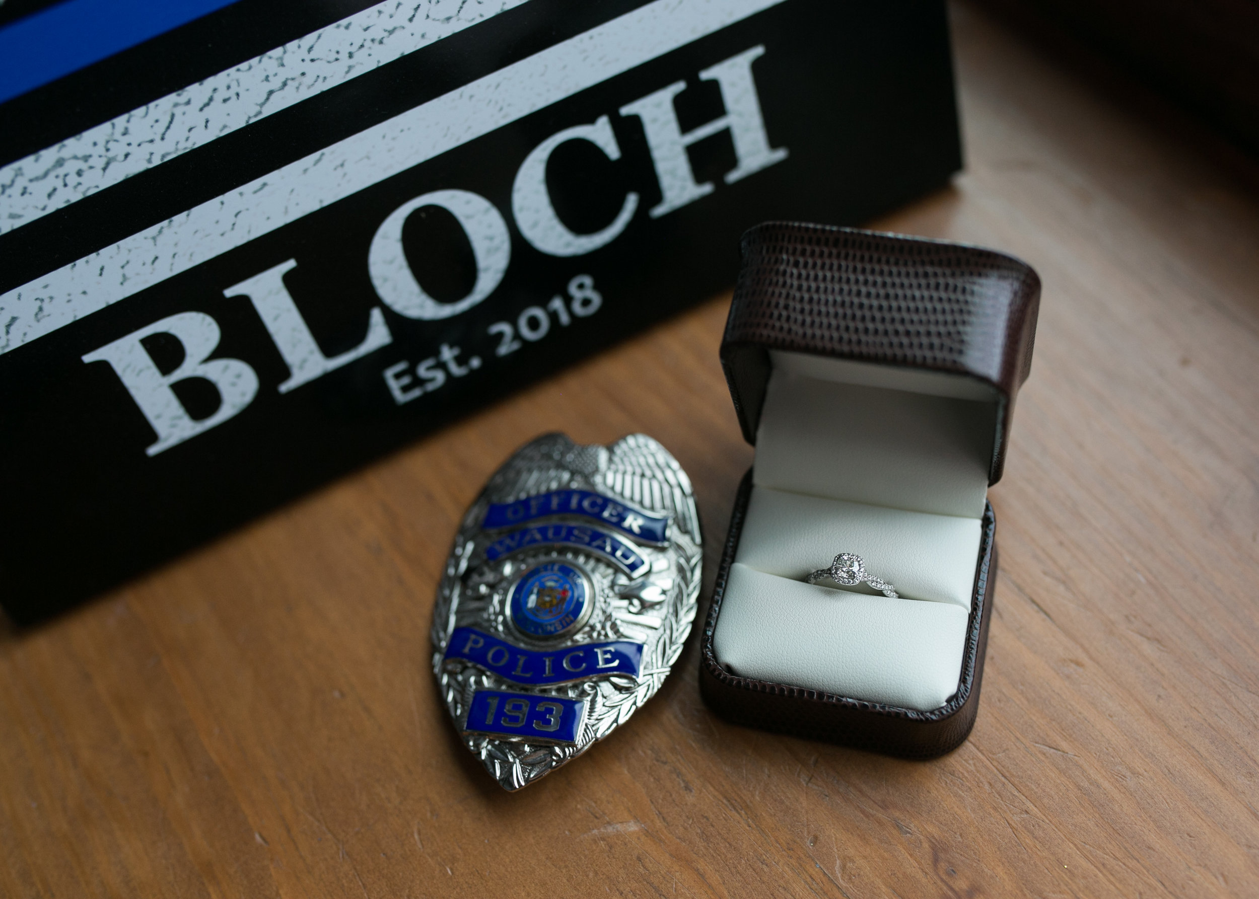 Wausau police officer gets engaged