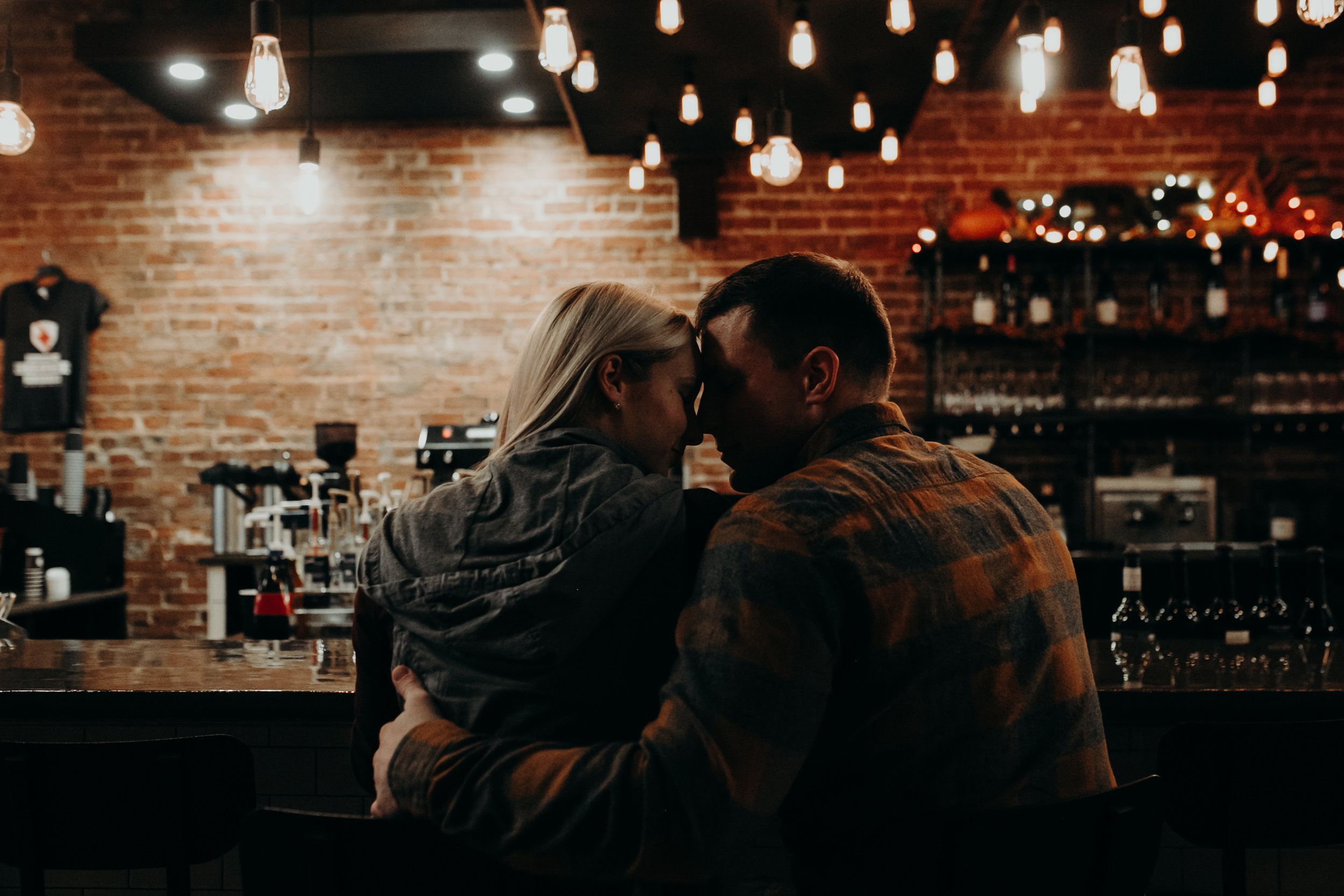 lovers at Revolution Coffee in Black River Falls WI