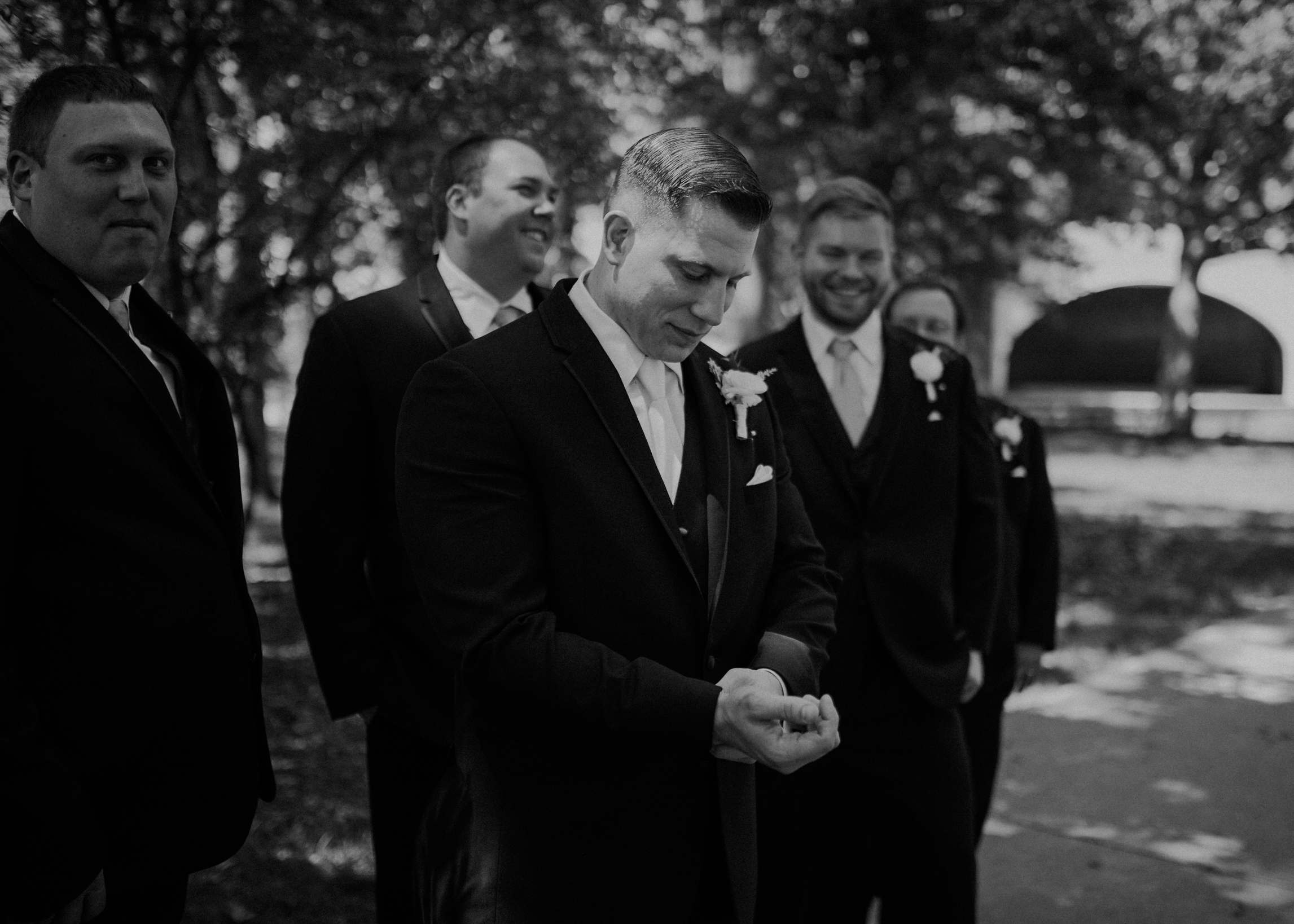 Marshfield WI wedding photographer moody and authentic