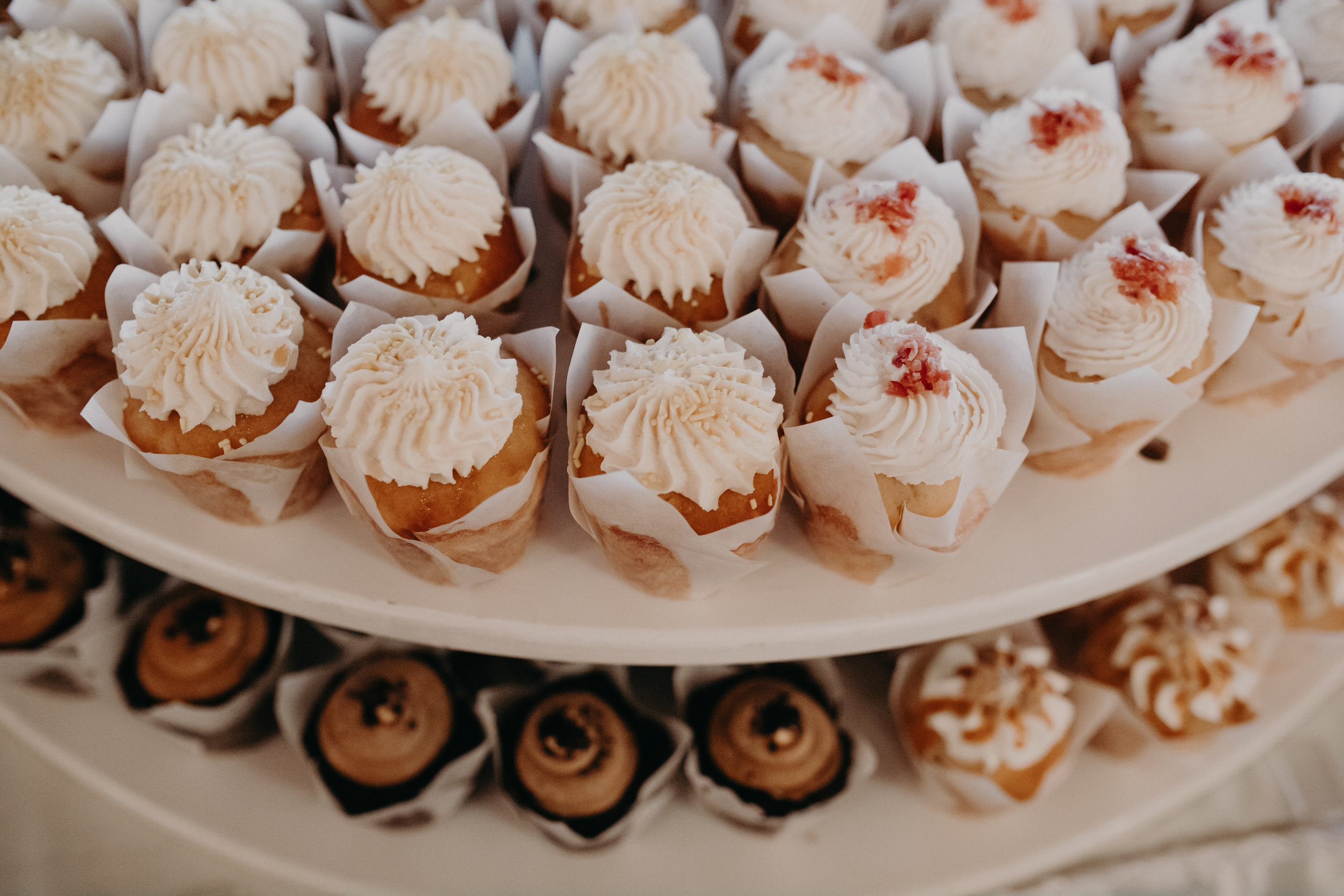 wedding cupcakes baked by 2 1/2 Cups in Marshfield WI