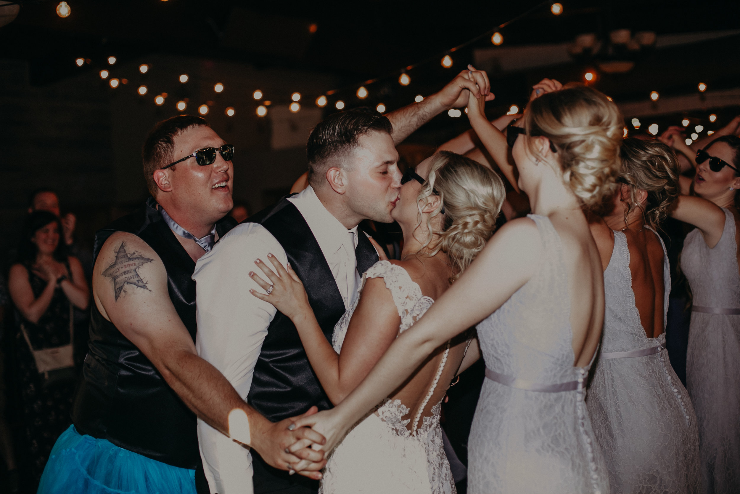 Over the Top Entertainment wedding dj at RiverEdge Golf Club in Marshfield WI
