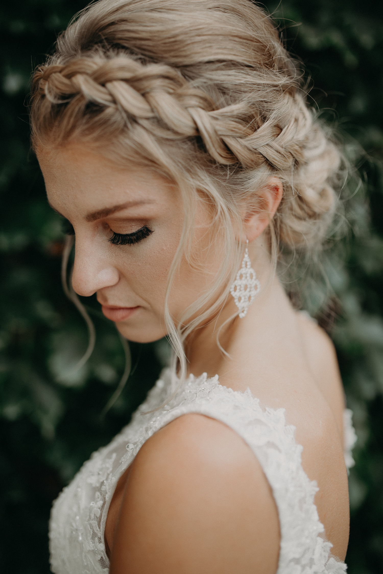 bridal portraits by Minnesota wedding photographer Andrea Wagner