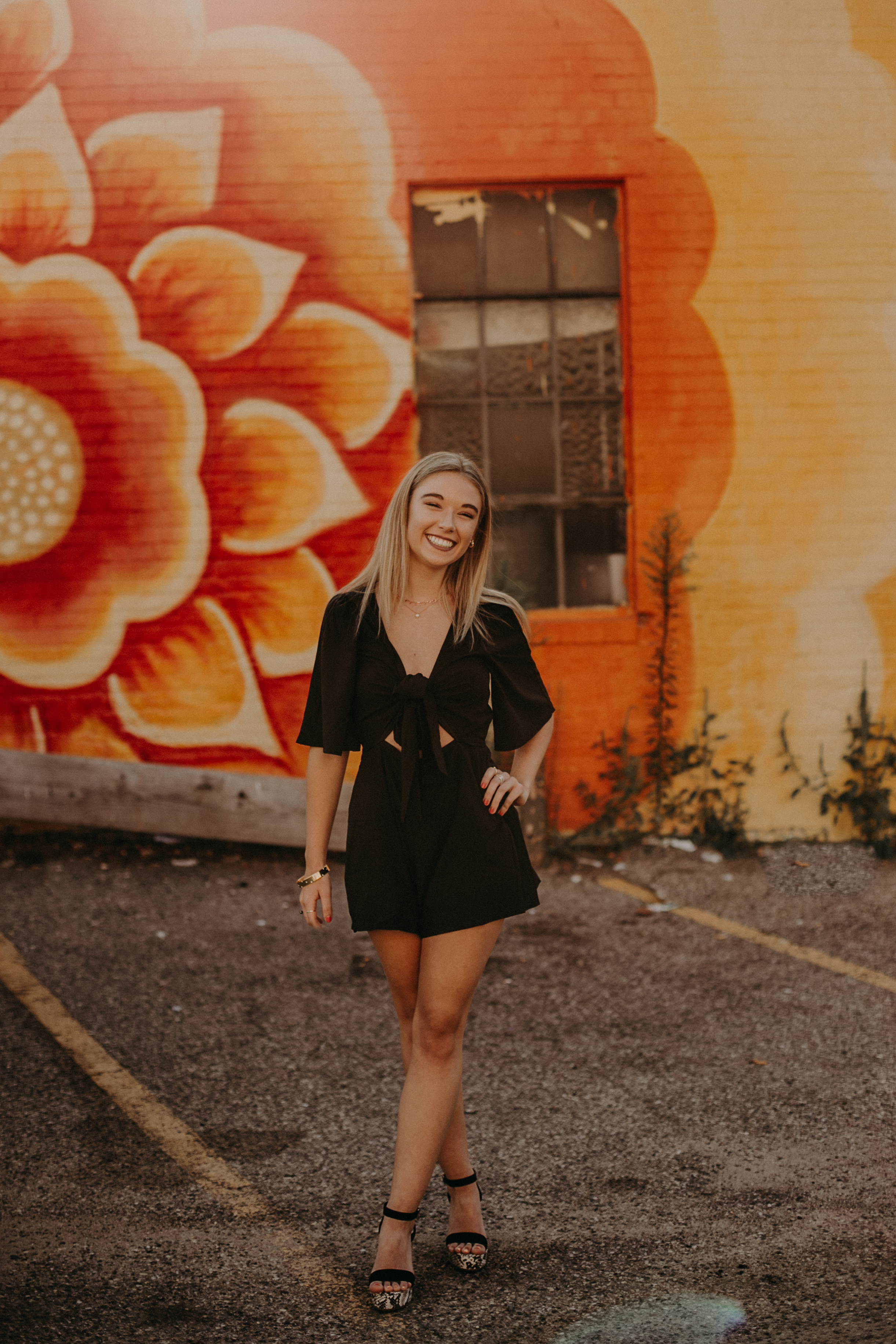 best senior photo backdrops in downtown Minneapolis