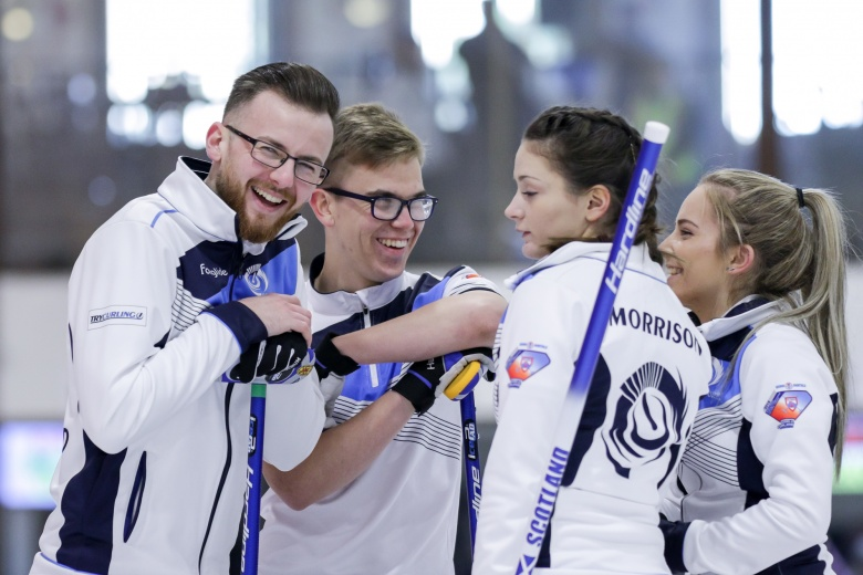 (FEATURE) Junior Curlers in kelowna. - Written for the World Curling Federation.