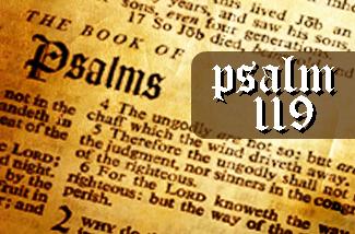 PSALM 119 SERIES — Parksville Fellowship Baptist Church